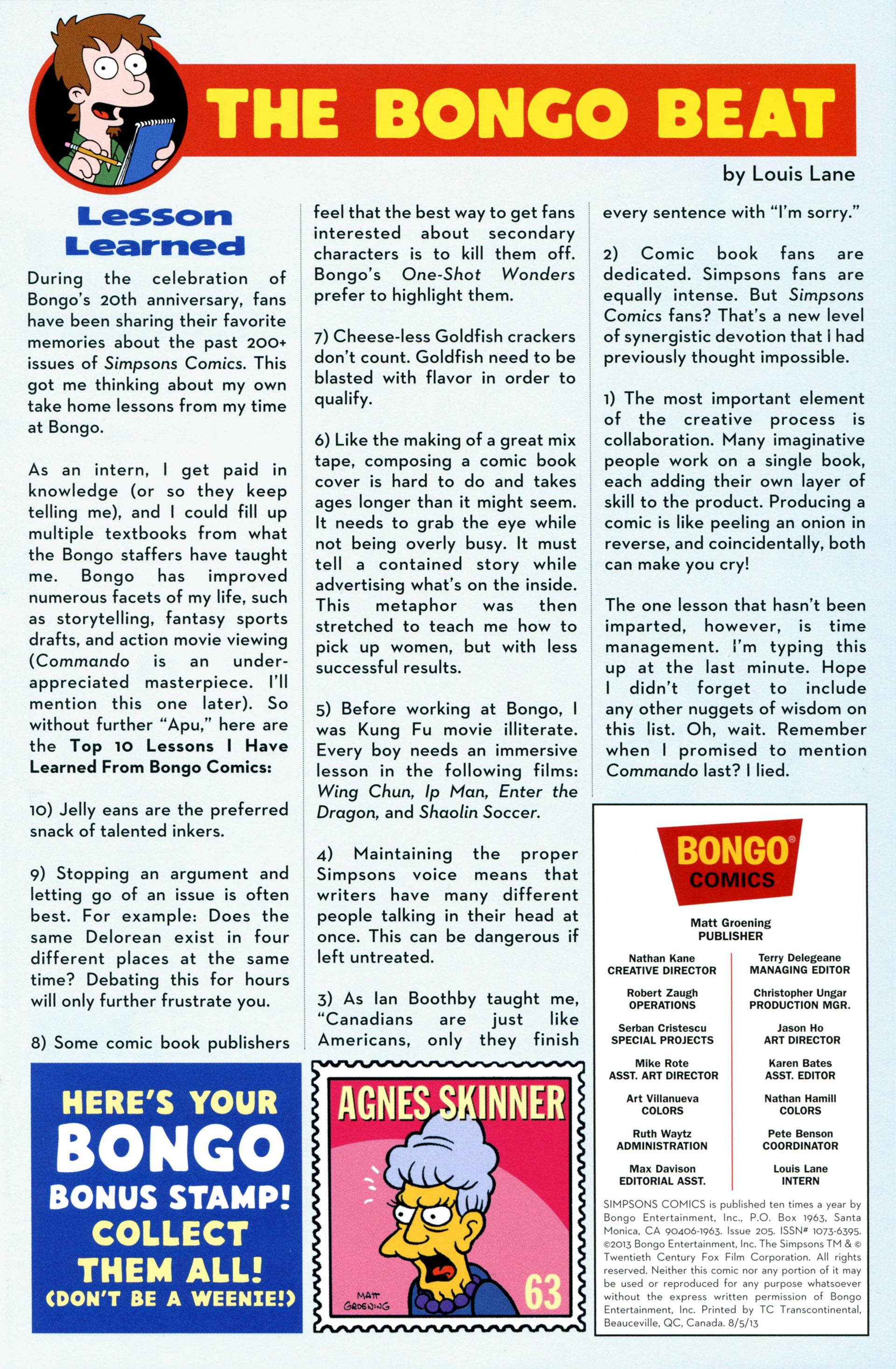 Read online Simpsons Comics comic -  Issue #205 - 27