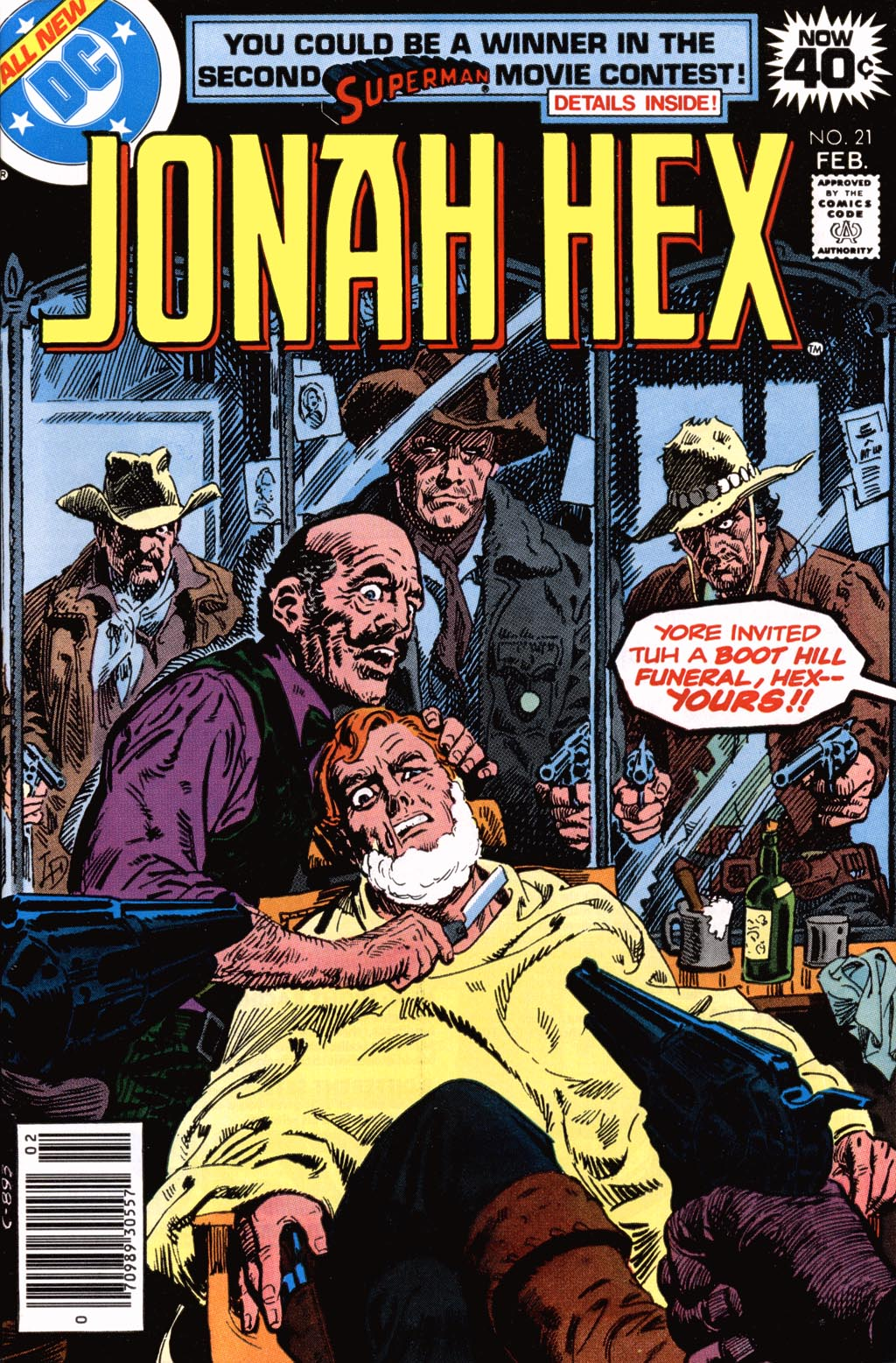 Jonah Hex (1977) 21 Page 1