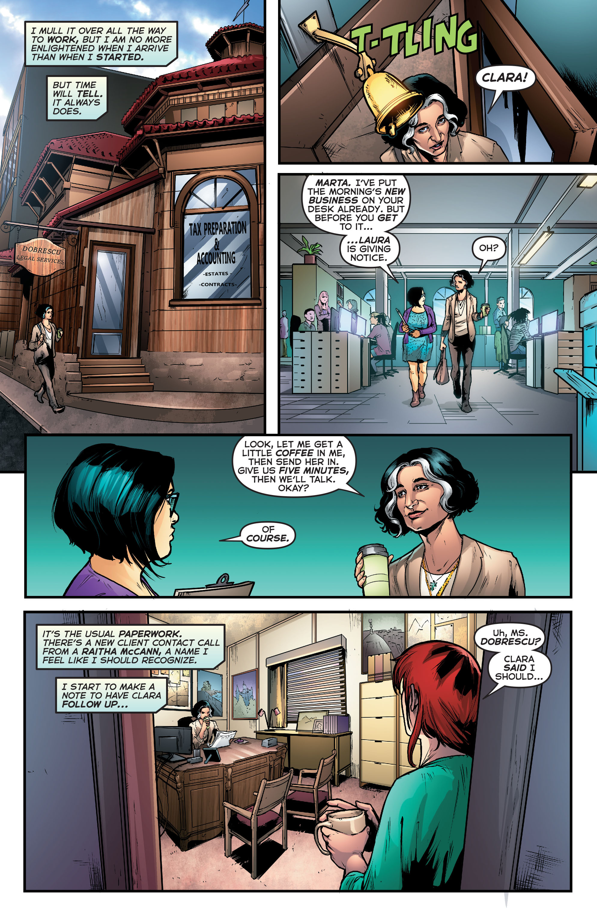 Read online Astro City comic -  Issue #39 - 6