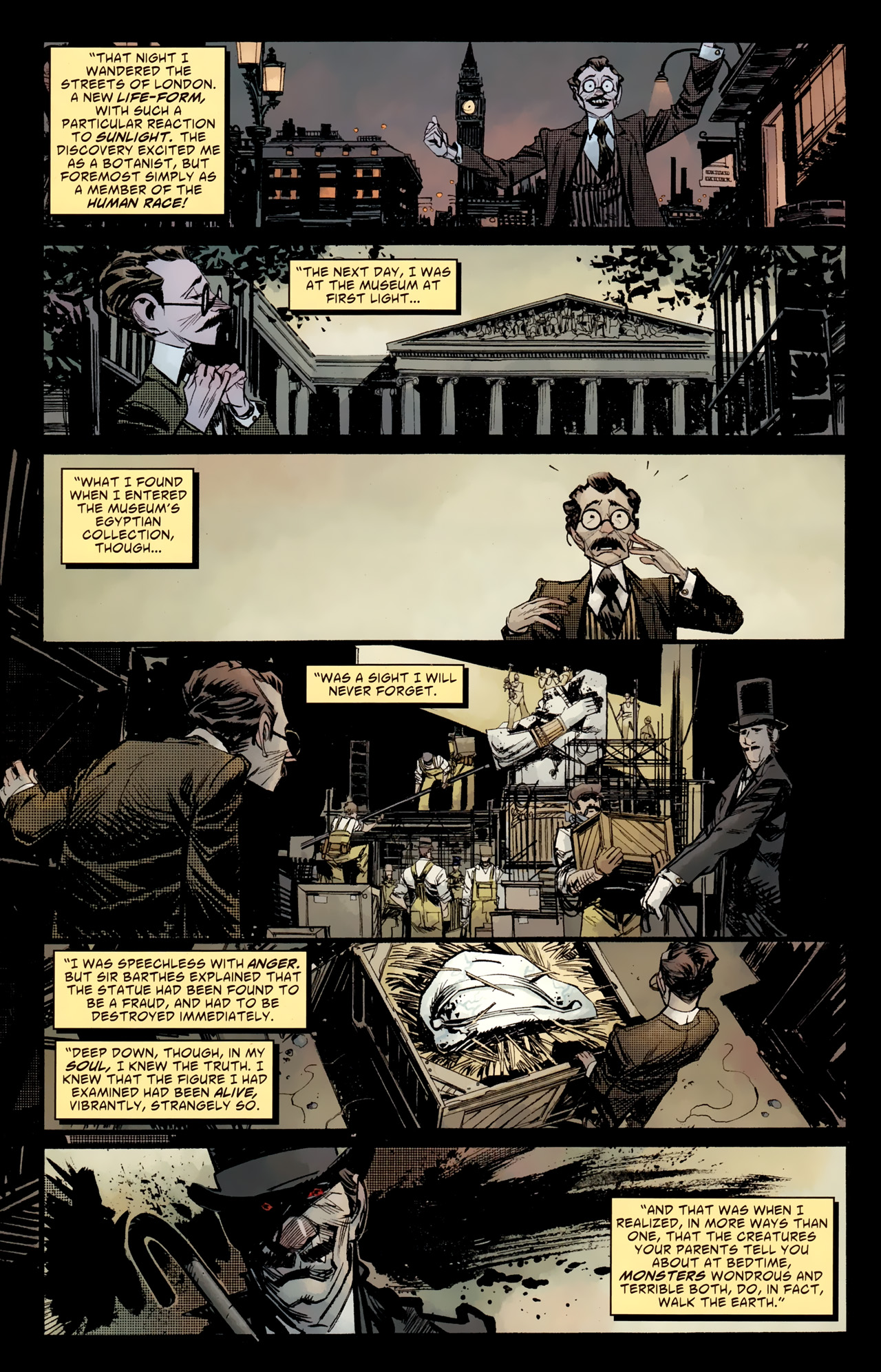 Read online American Vampire: Survival of the Fittest comic -  Issue #4 - 5