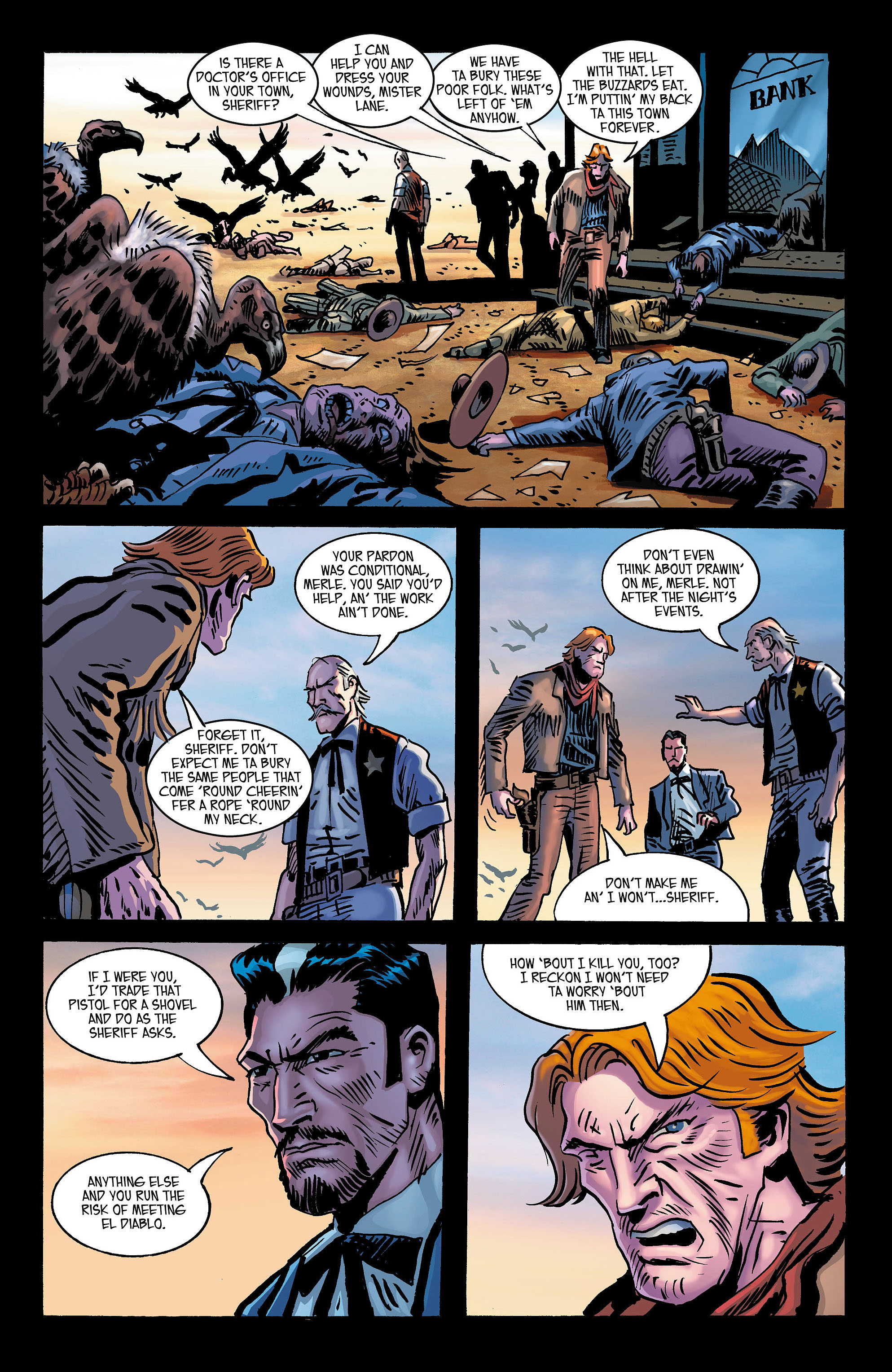Read online All-Star Western (2011) comic -  Issue #3 - 26