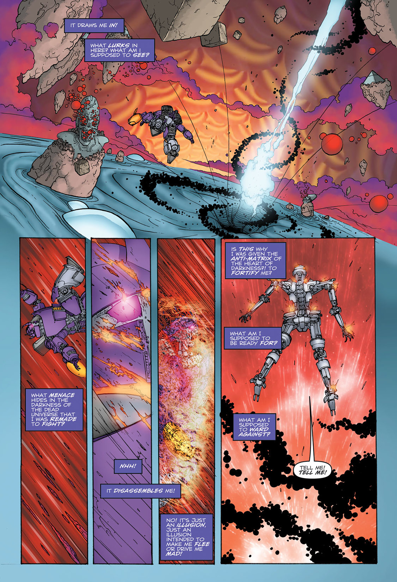 Read online Transformers: Heart of Darkness comic -  Issue #2 - 18