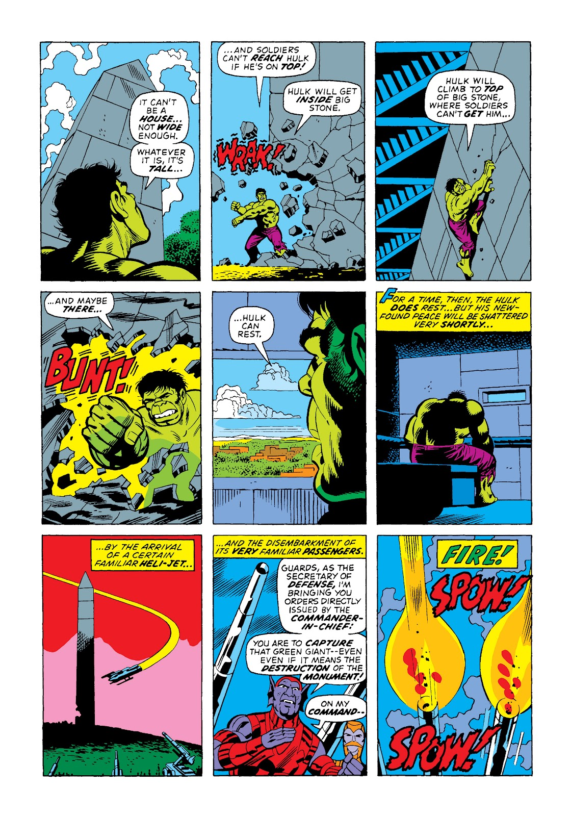 Read online Marvel Masterworks: The Incredible Hulk comic -  Issue # TPB 10 (Part 2) - 22