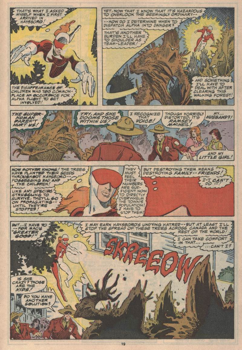 Read online Alpha Flight (1983) comic -  Issue #47 - 20