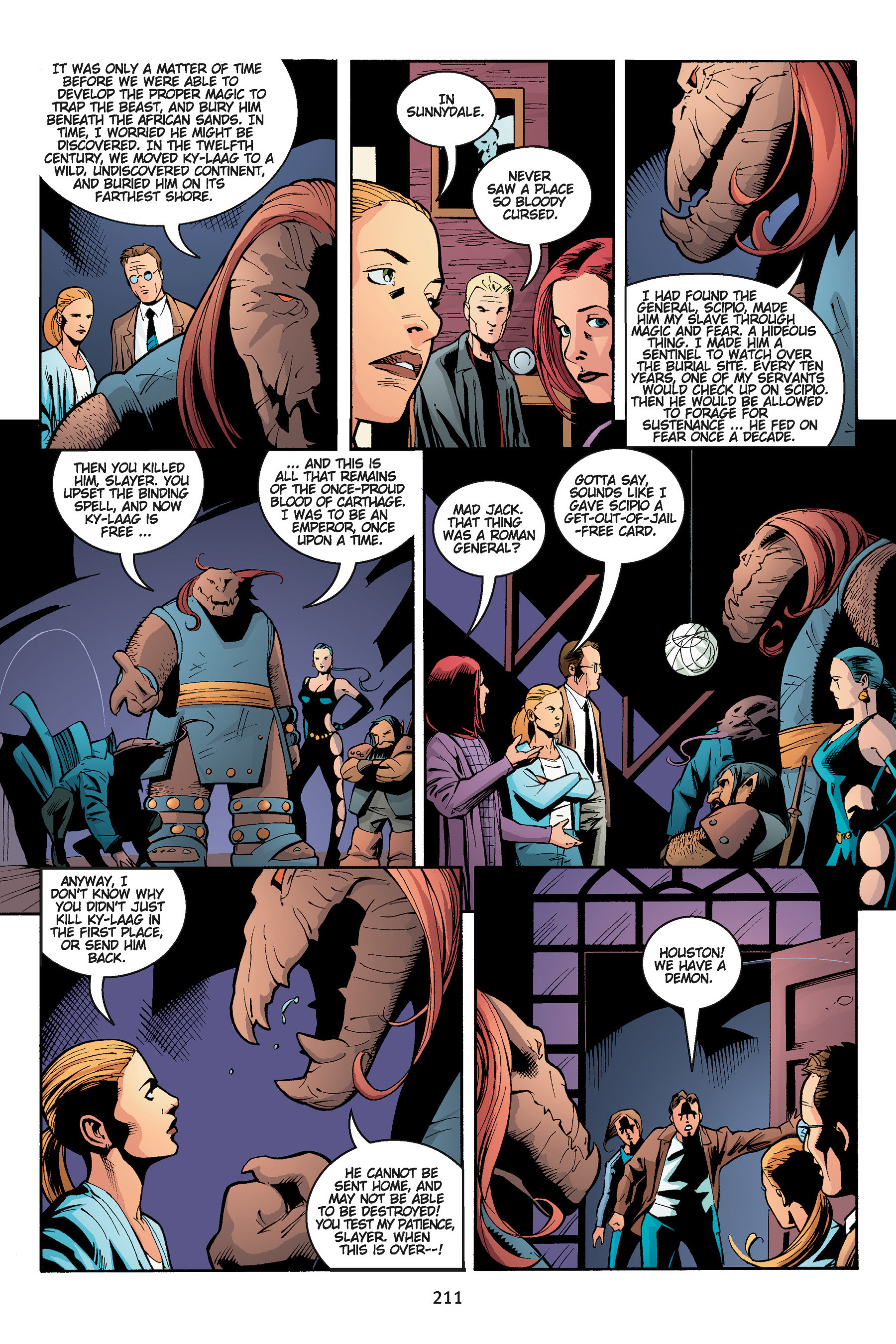 Read online Buffy the Vampire Slayer: Omnibus comic -  Issue # TPB 5 - 211