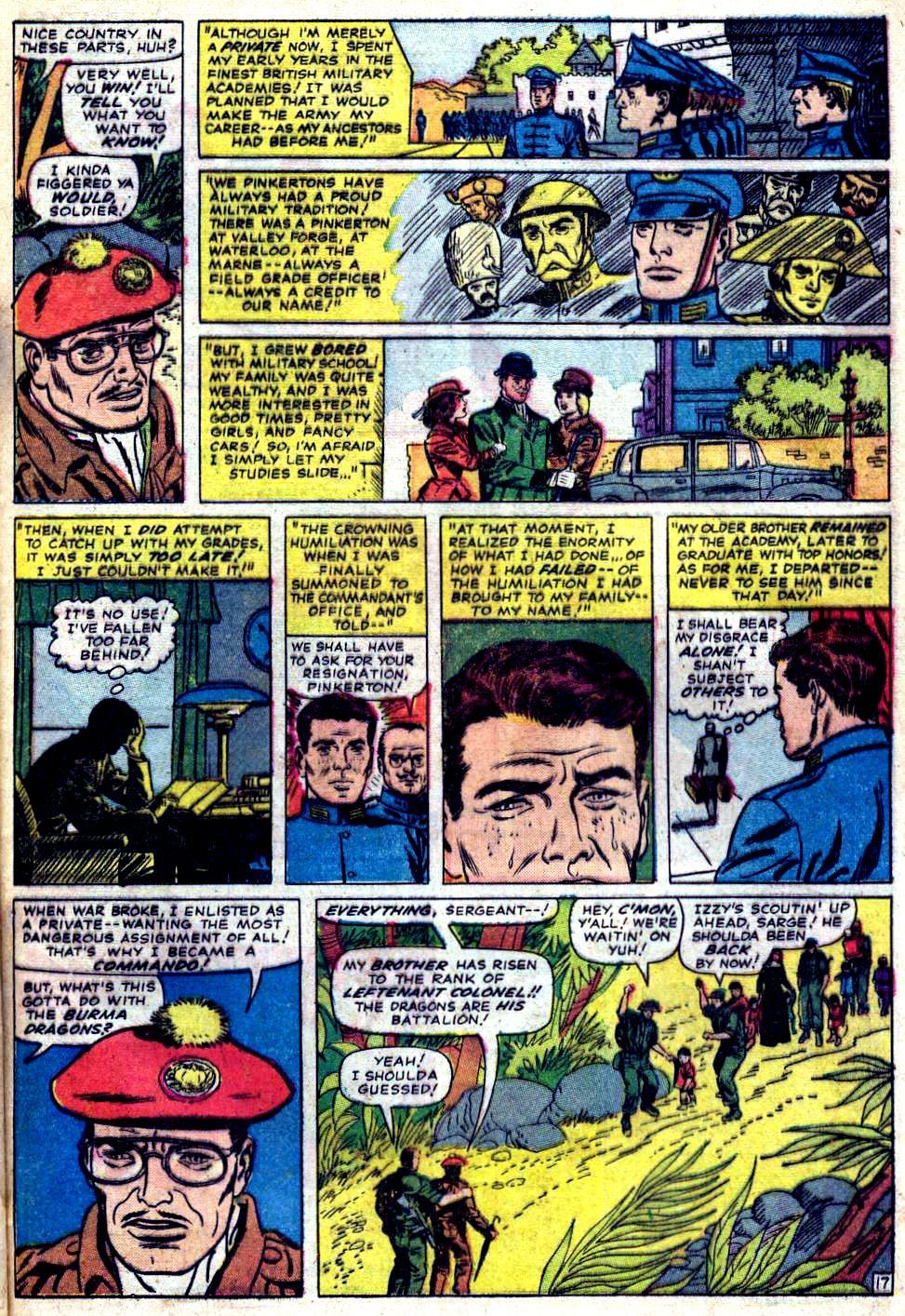 Read online Sgt. Fury comic -  Issue #23 - 25