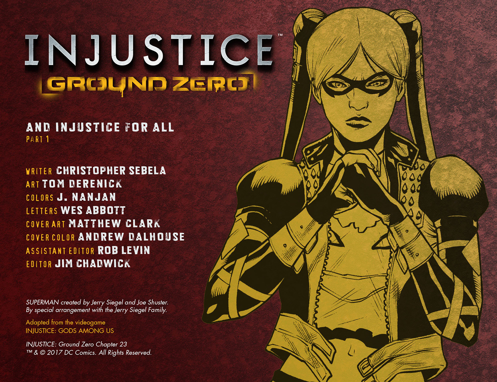 Read online Injustice: Ground Zero comic -  Issue #23 - 3