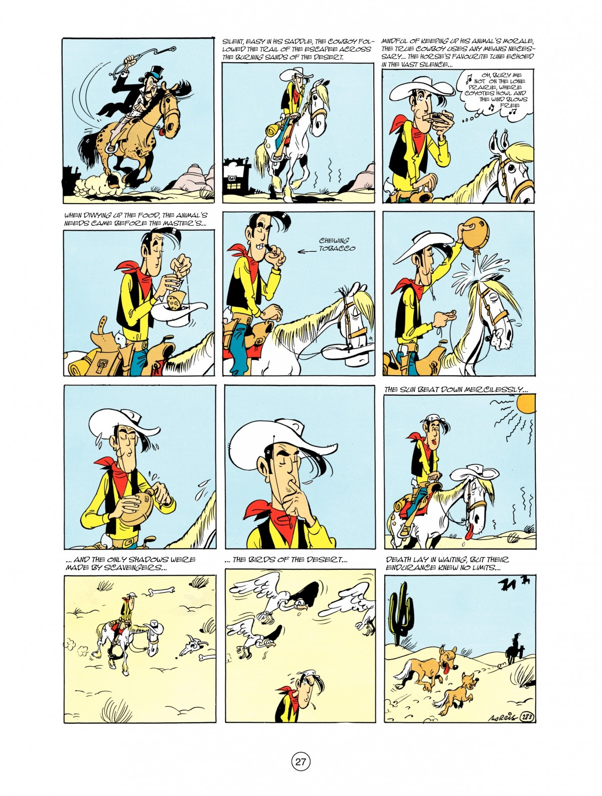Read online A Lucky Luke Adventure comic -  Issue #38 - 27
