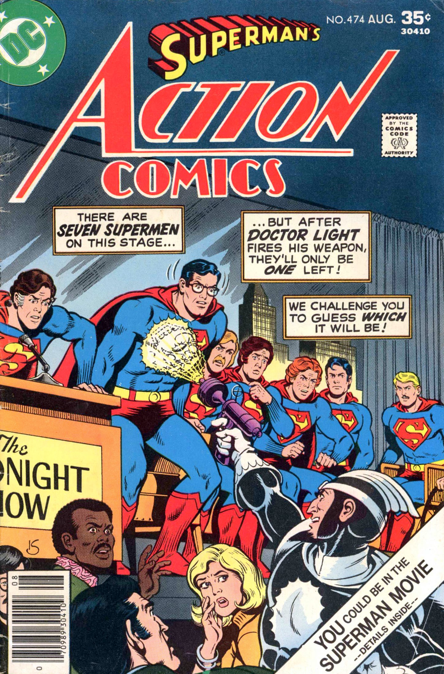 Read online Action Comics (1938) comic -  Issue #474 - 1