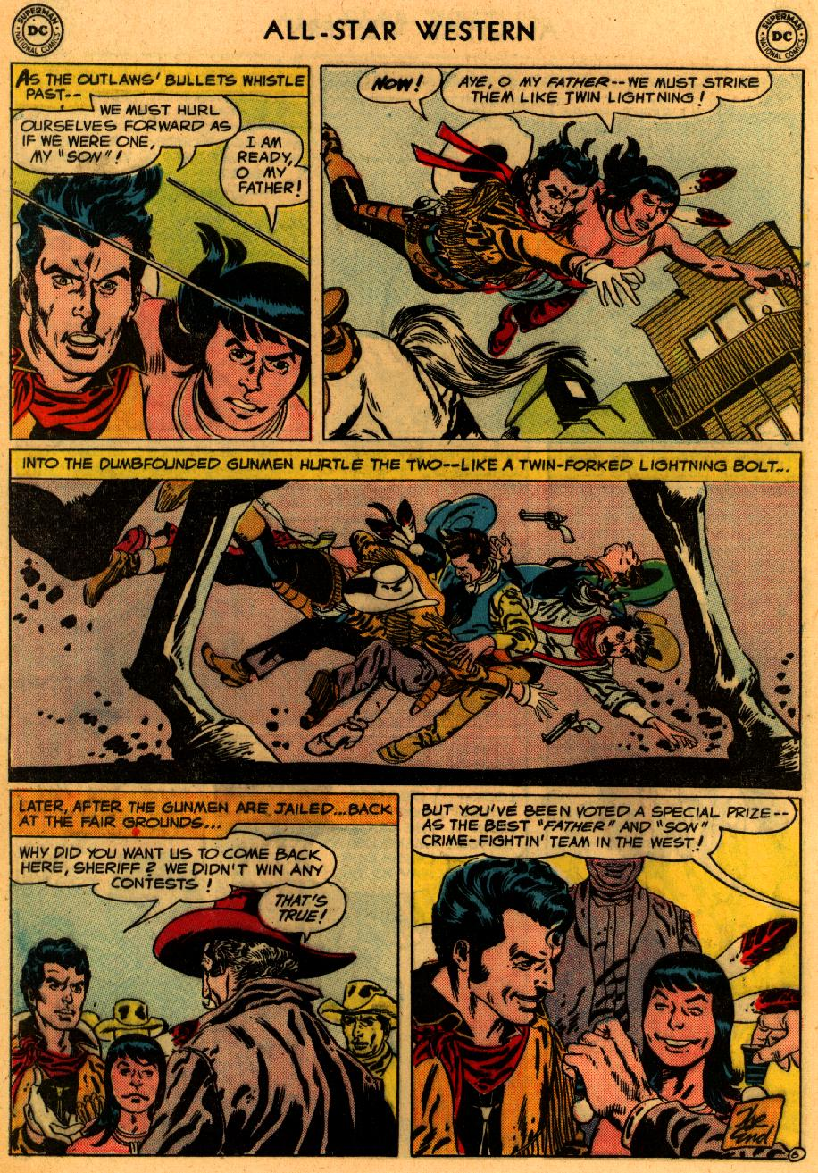 Read online All-Star Western (1951) comic -  Issue #94 - 33