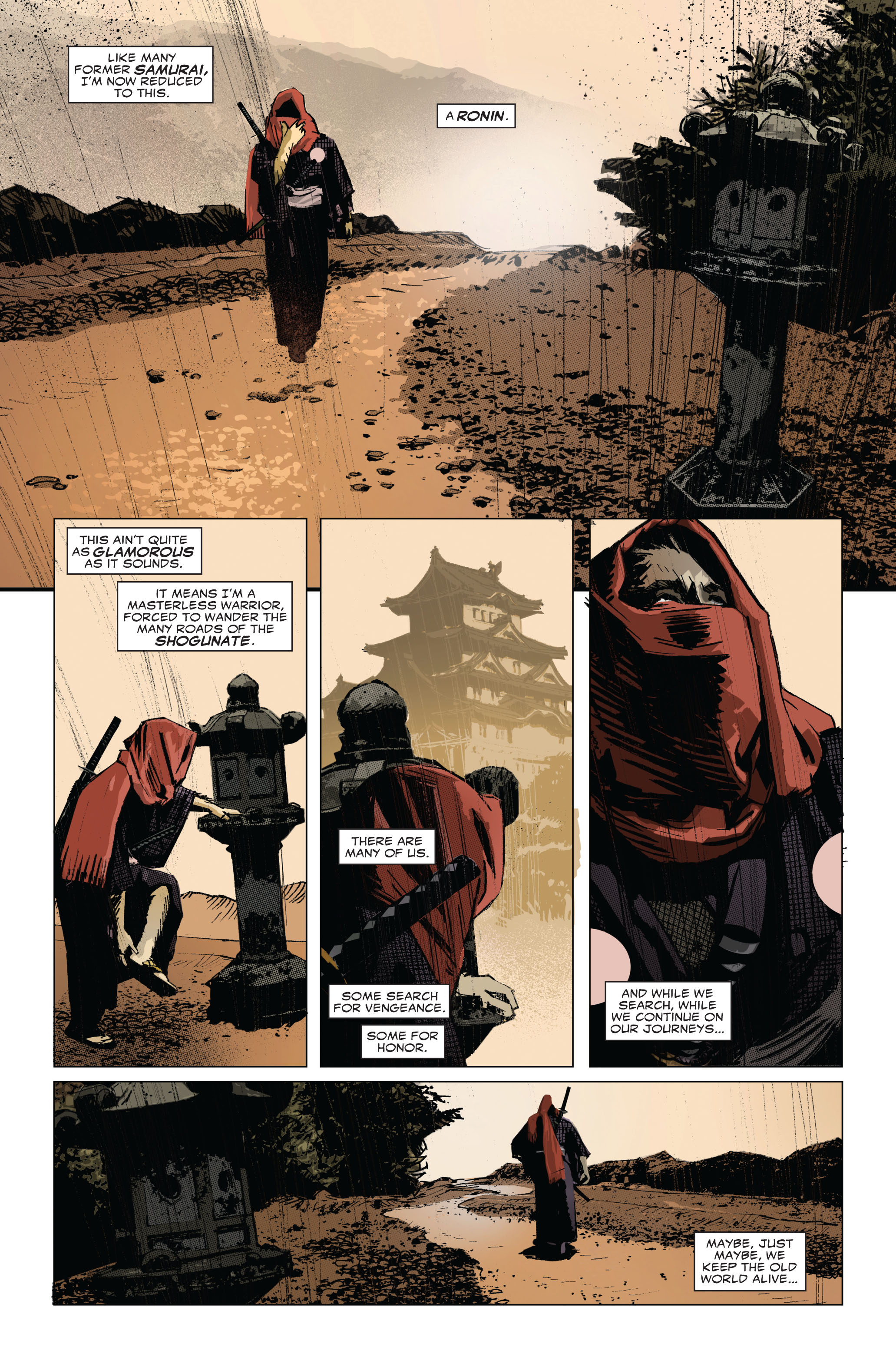Read online 5 Ronin (2011) comic -  Issue #1 - 3