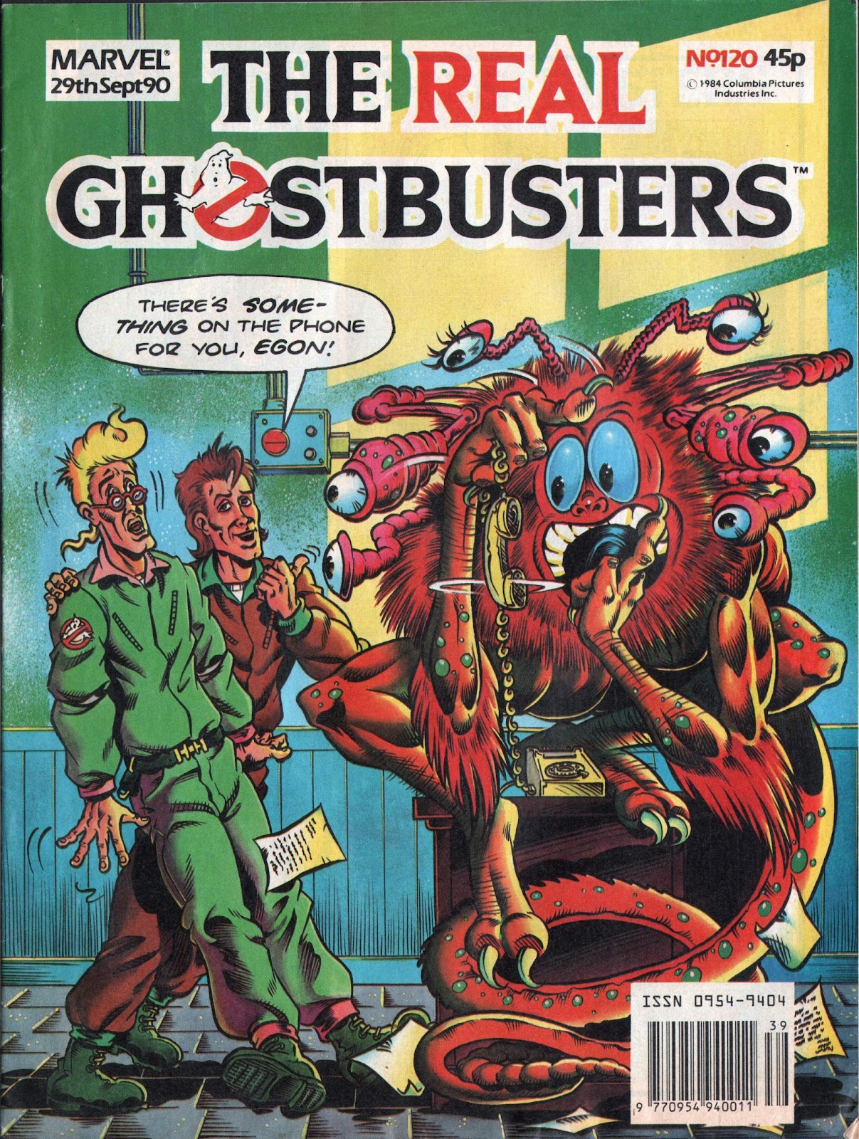 The Real Ghostbusters 120 Page 1
