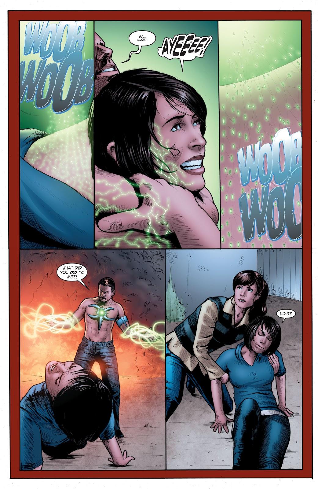 Read online Smallville Season 11 [II] comic -  Issue # TPB 4 - 131