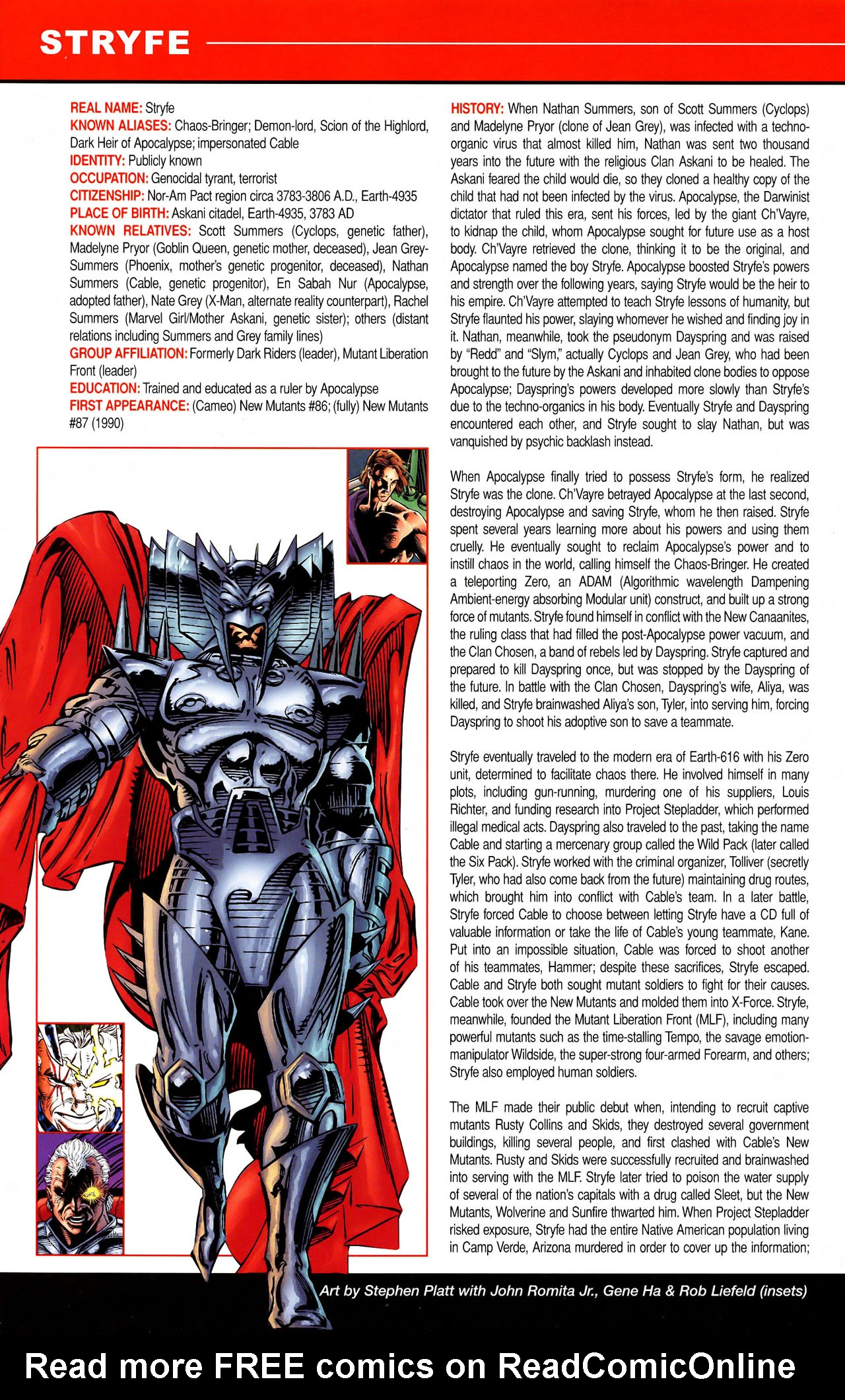Read online All-New Official Handbook of the Marvel Universe A to Z comic -  Issue #11 - 8