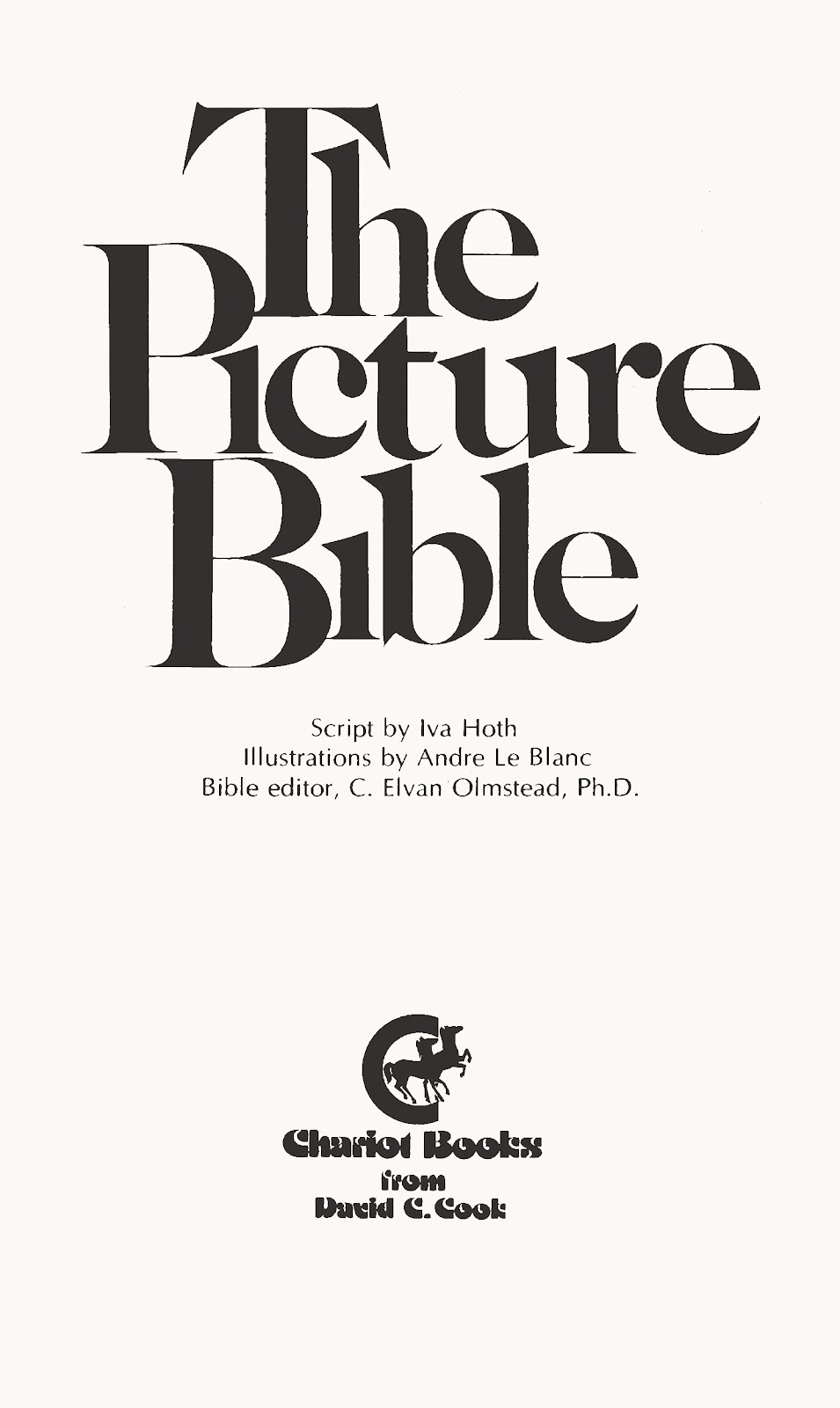 The Picture Bible issue TPB (Part 1) - Page 3