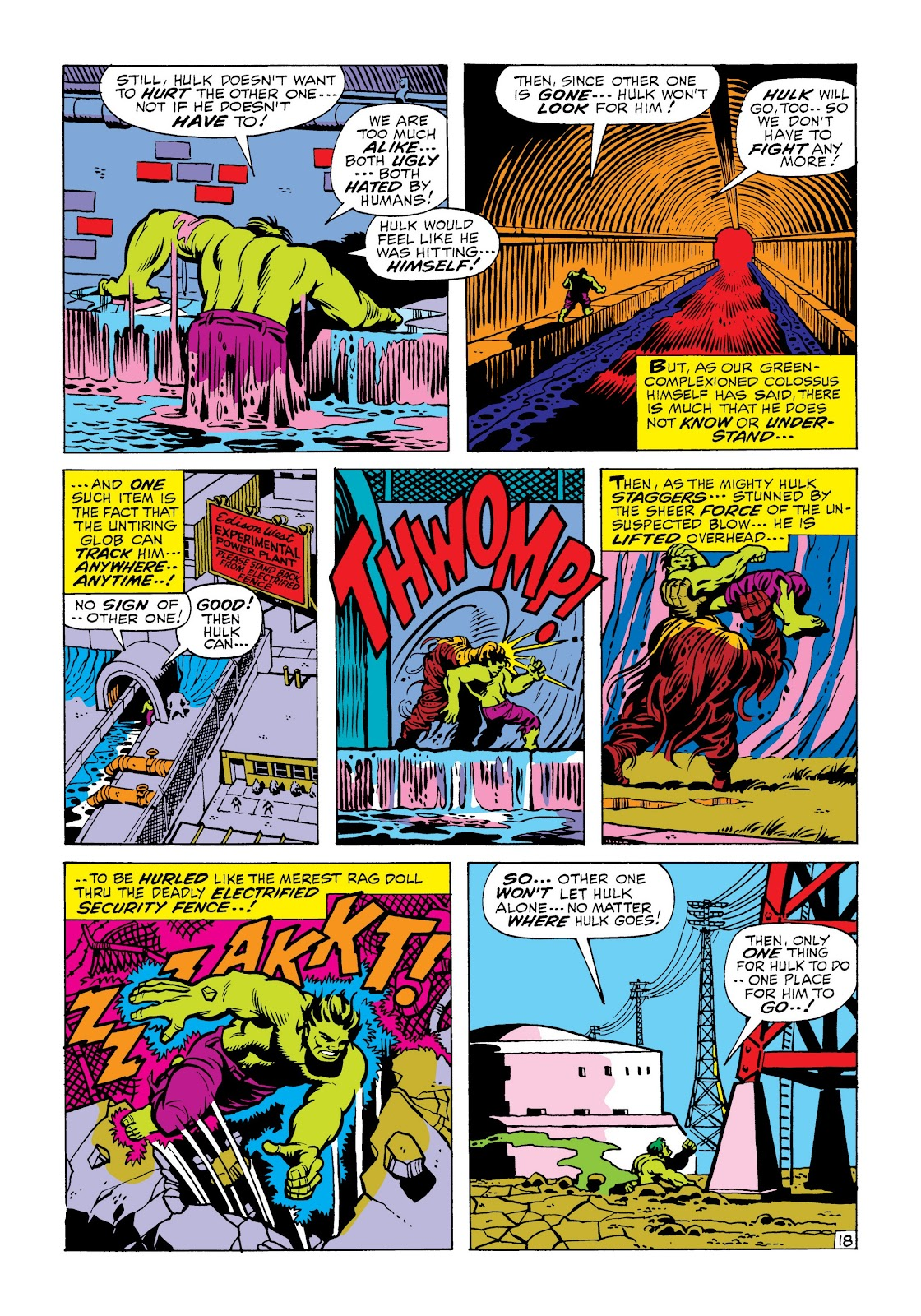 Read online Marvel Masterworks: The Incredible Hulk comic -  Issue # TPB 6 (Part 2) - 71