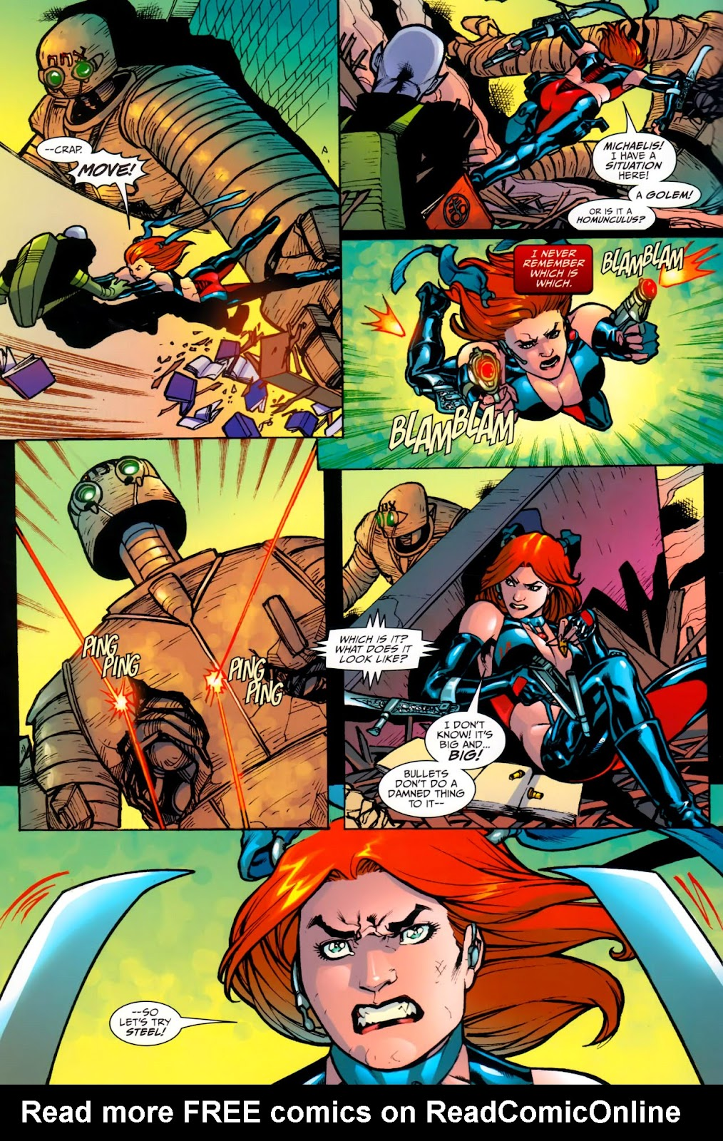BloodRayne: Automaton issue Full - Page 20