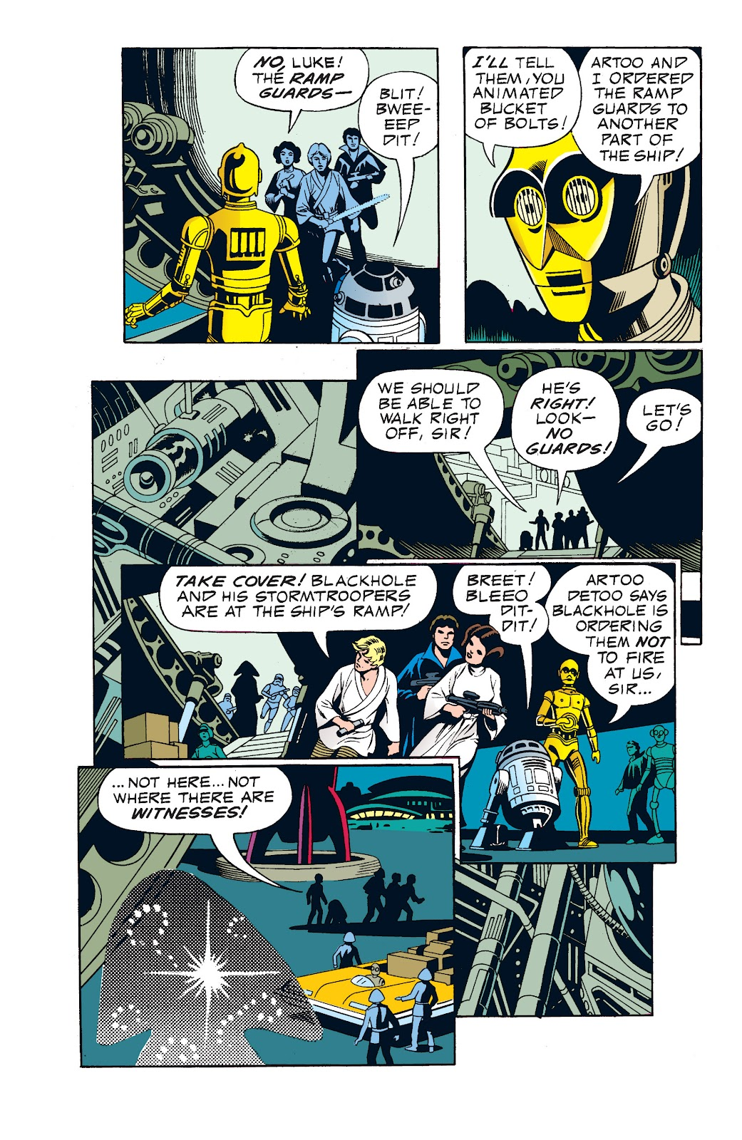 Read online Star Wars Legends: The Newspaper Strips - Epic Collection comic -  Issue # TPB (Part 1) - 73