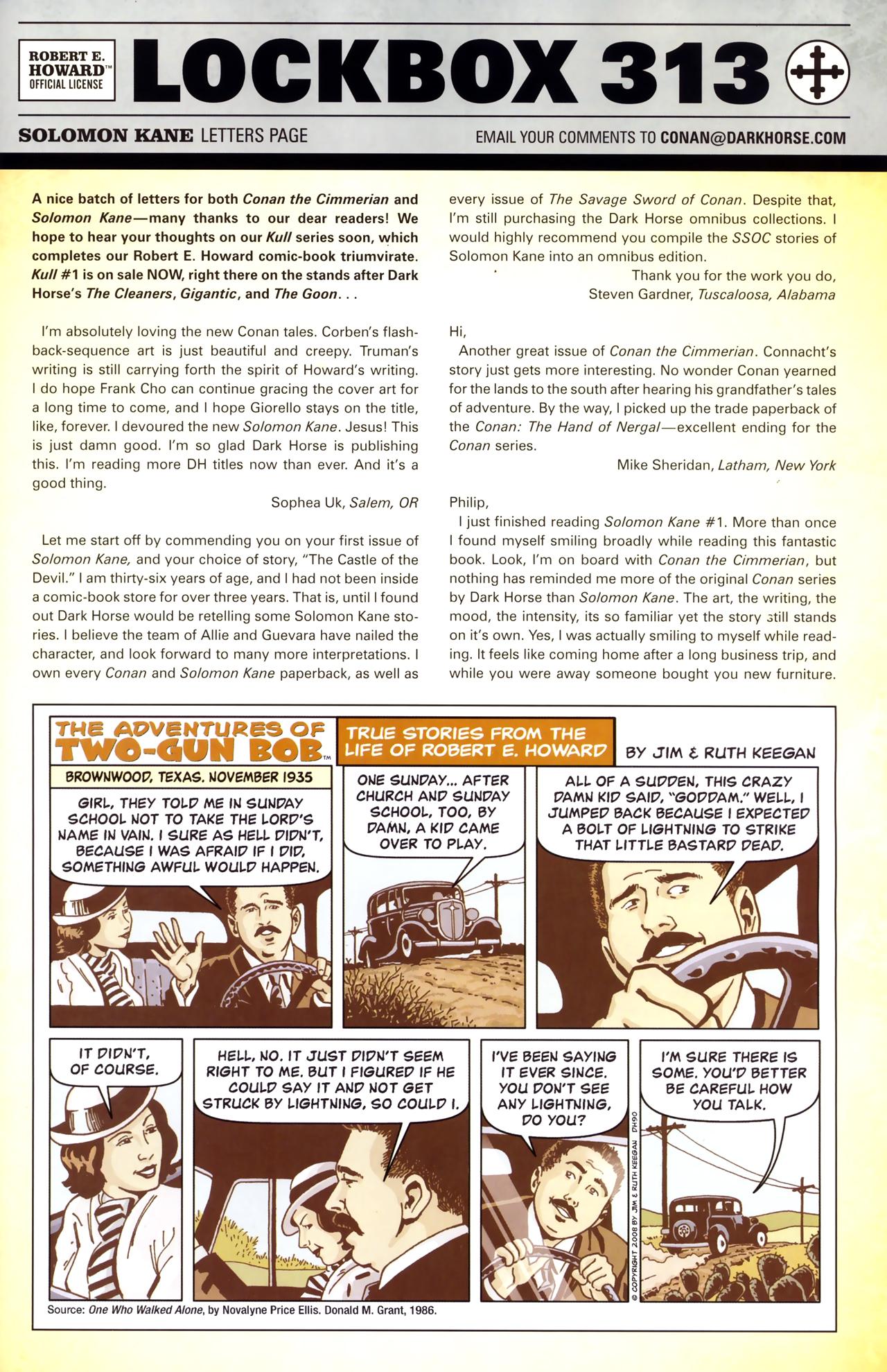 Read online Solomon Kane comic -  Issue #3 - 25