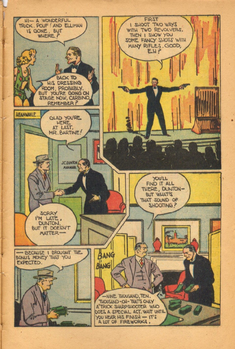 Read online Super-Magician Comics comic -  Issue #50 - 46