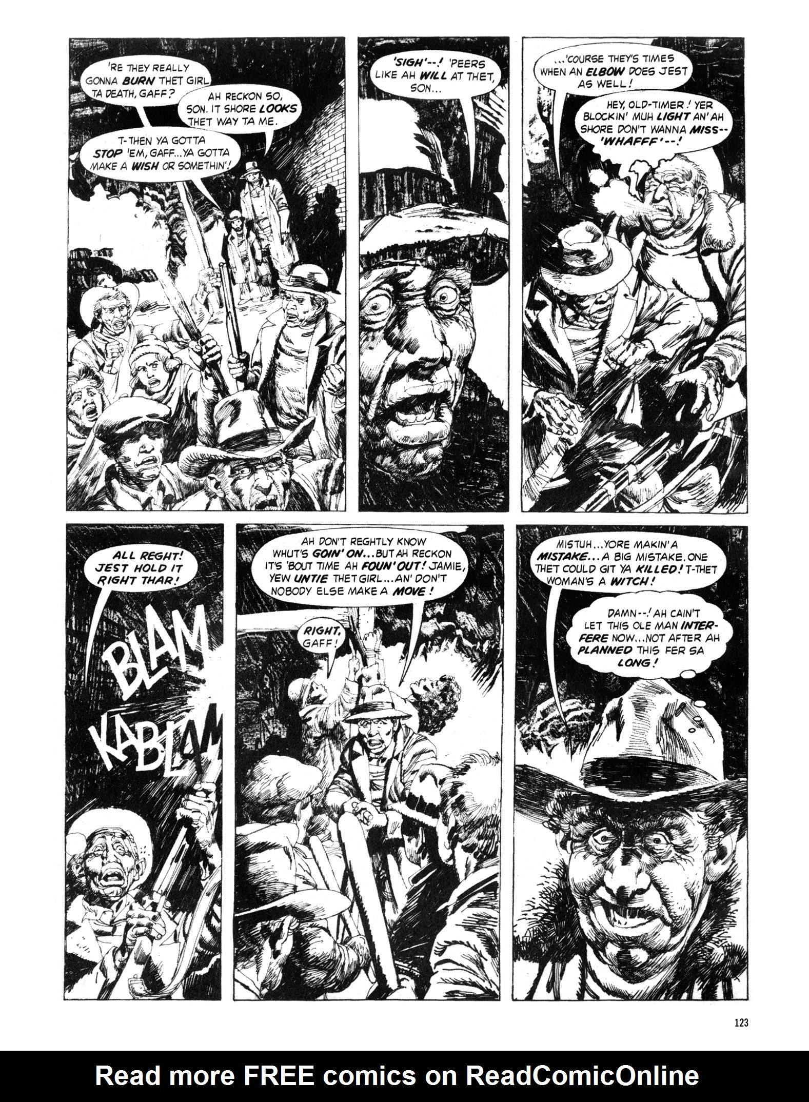 Read online Eerie Archives comic -  Issue # TPB 18 - 124