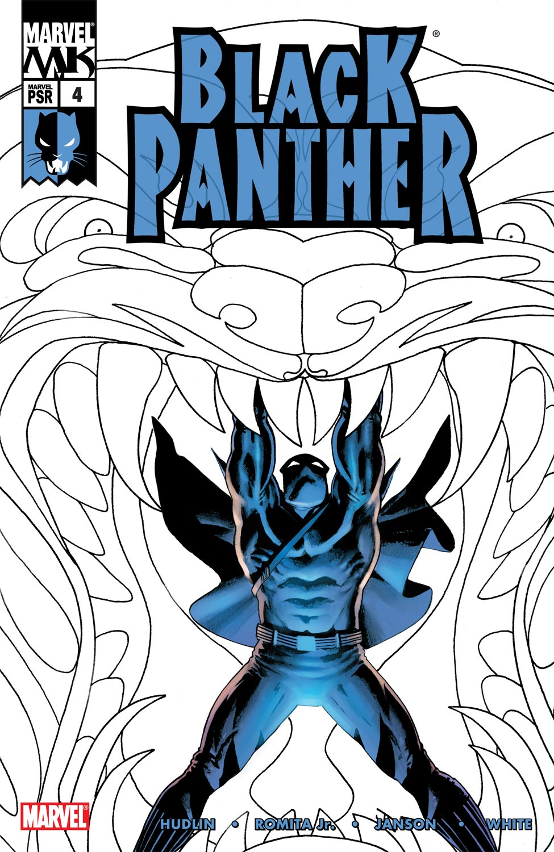 Black Panther (2005) 4 Page 1