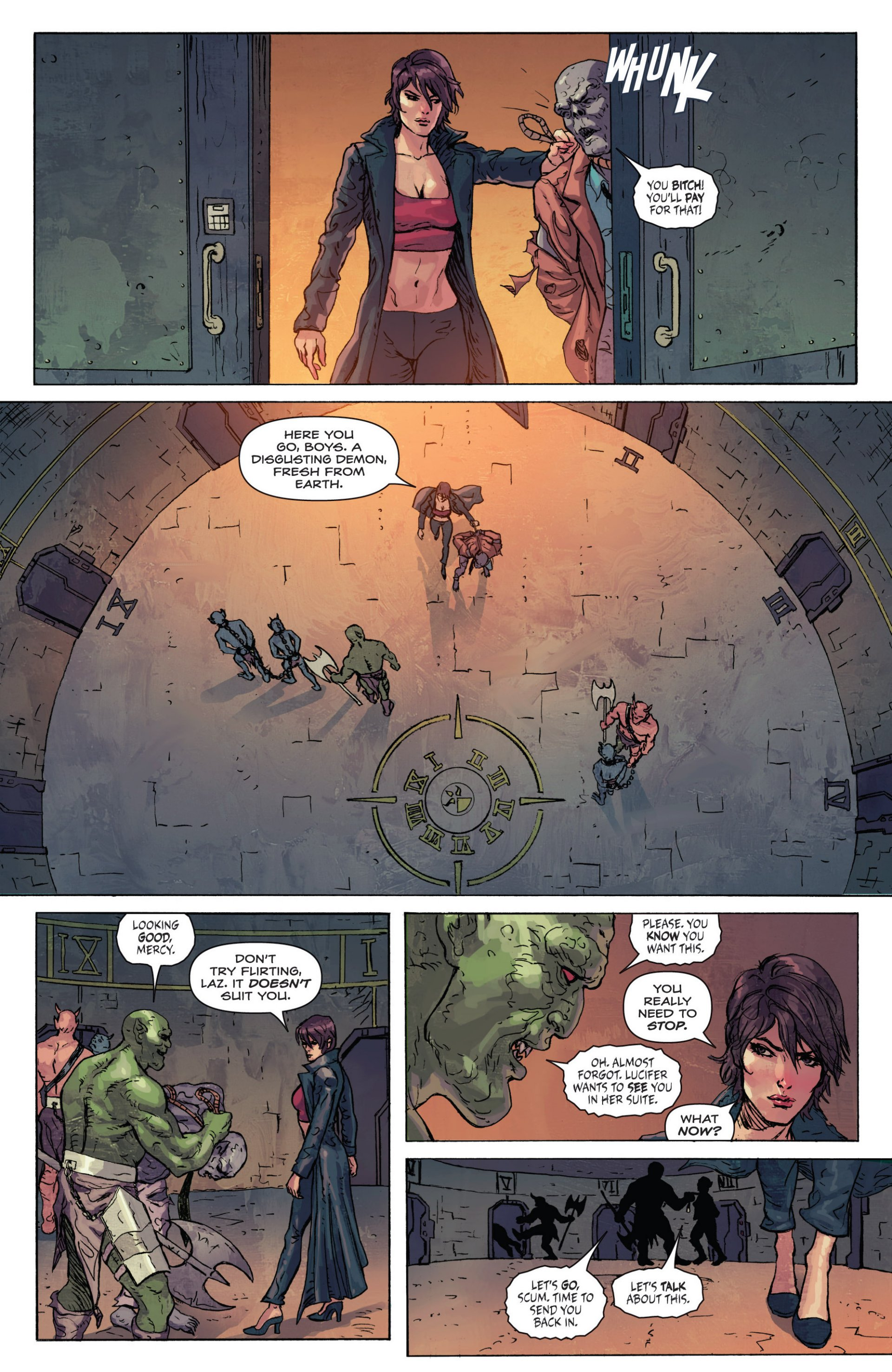 Read online Grimm Fairy Tales presents Inferno: Age of Darkness comic -  Issue # Full - 14