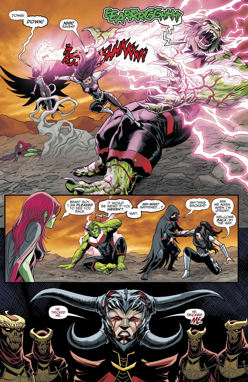 Read online Titans (2016) comic -  Issue #35 - 17
