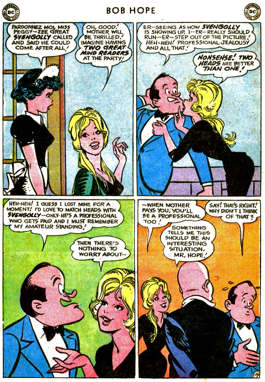 The Adventures of Bob Hope issue 77 - Page 20