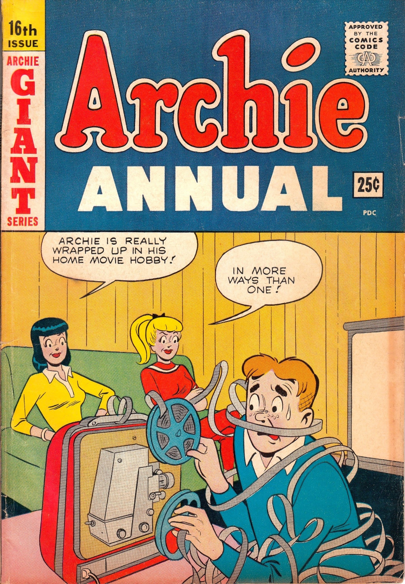 Archie Annual issue 16 - Page 1