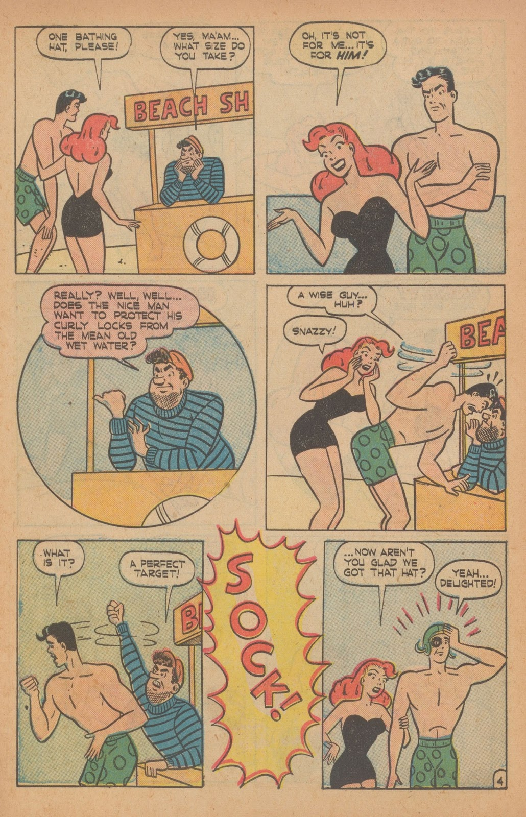 Read online Nellie The Nurse (1945) comic -  Issue #22 - 14