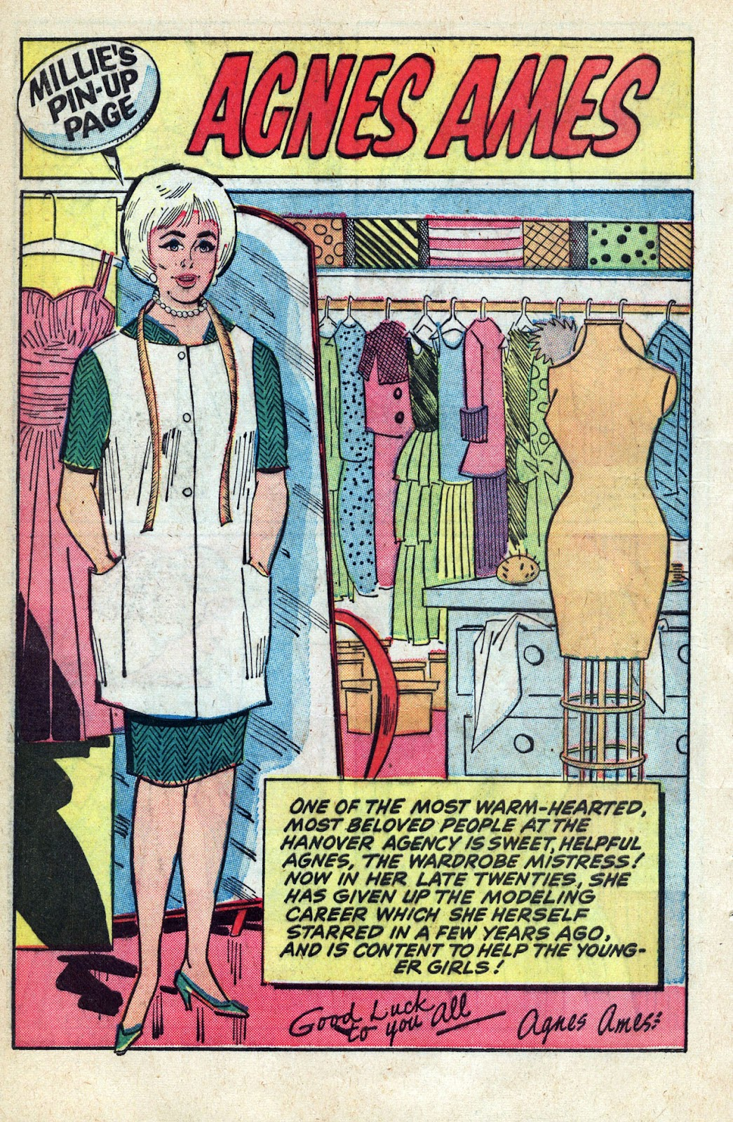 Read online Millie the Model comic -  Issue # Annual 3 - 42