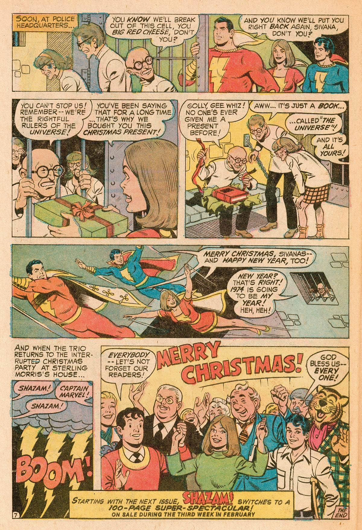 Read online Shazam! (1973) comic -  Issue #11 - 21