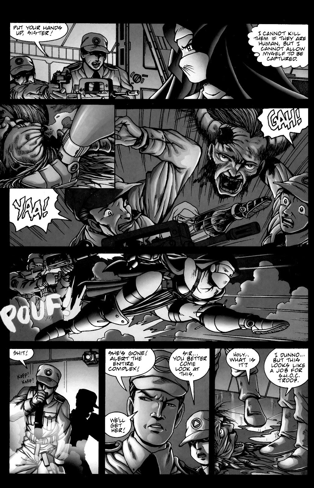 Warrior Nun Areala:  Dangerous Game Issue #3 #3 - English 33