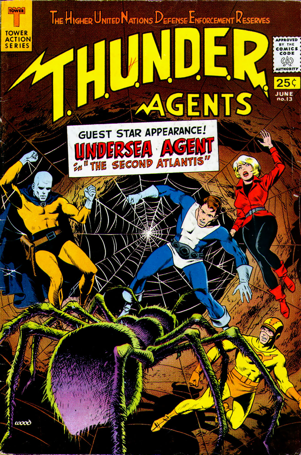 T.H.U.N.D.E.R. Agents (1965) issue 13 - Page 1