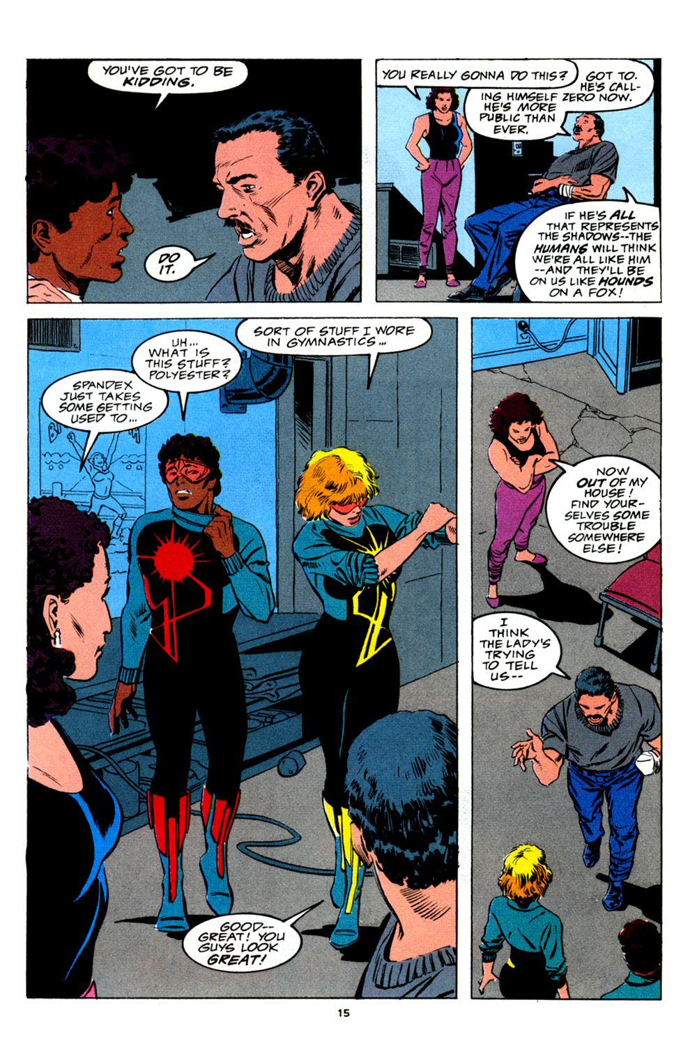 Read online Powerline comic -  Issue #2 - 17