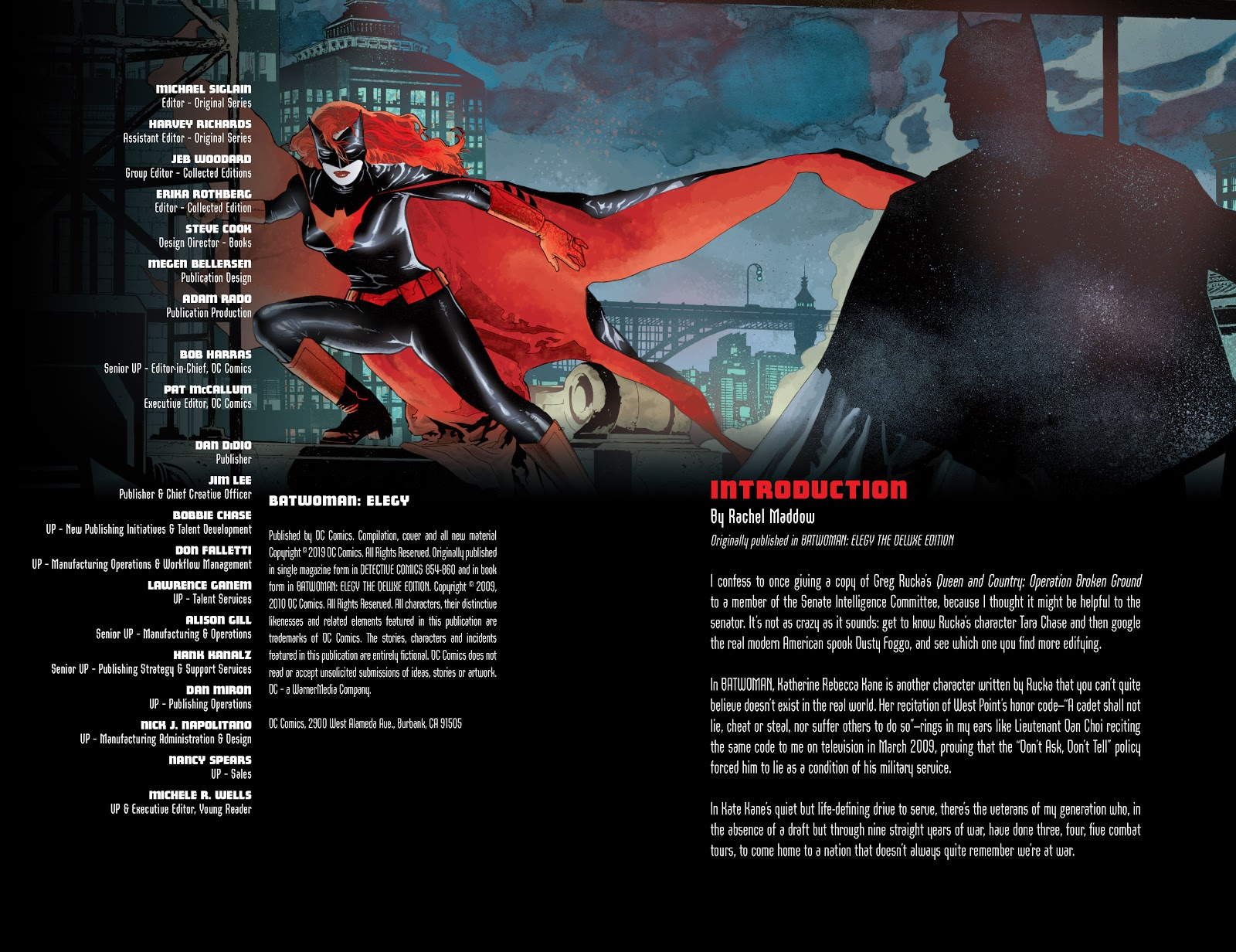 Read online Detective Comics (1937) comic -  Issue # _TPB Batwoman – Elegy (New Edition) (Part 1) - 4