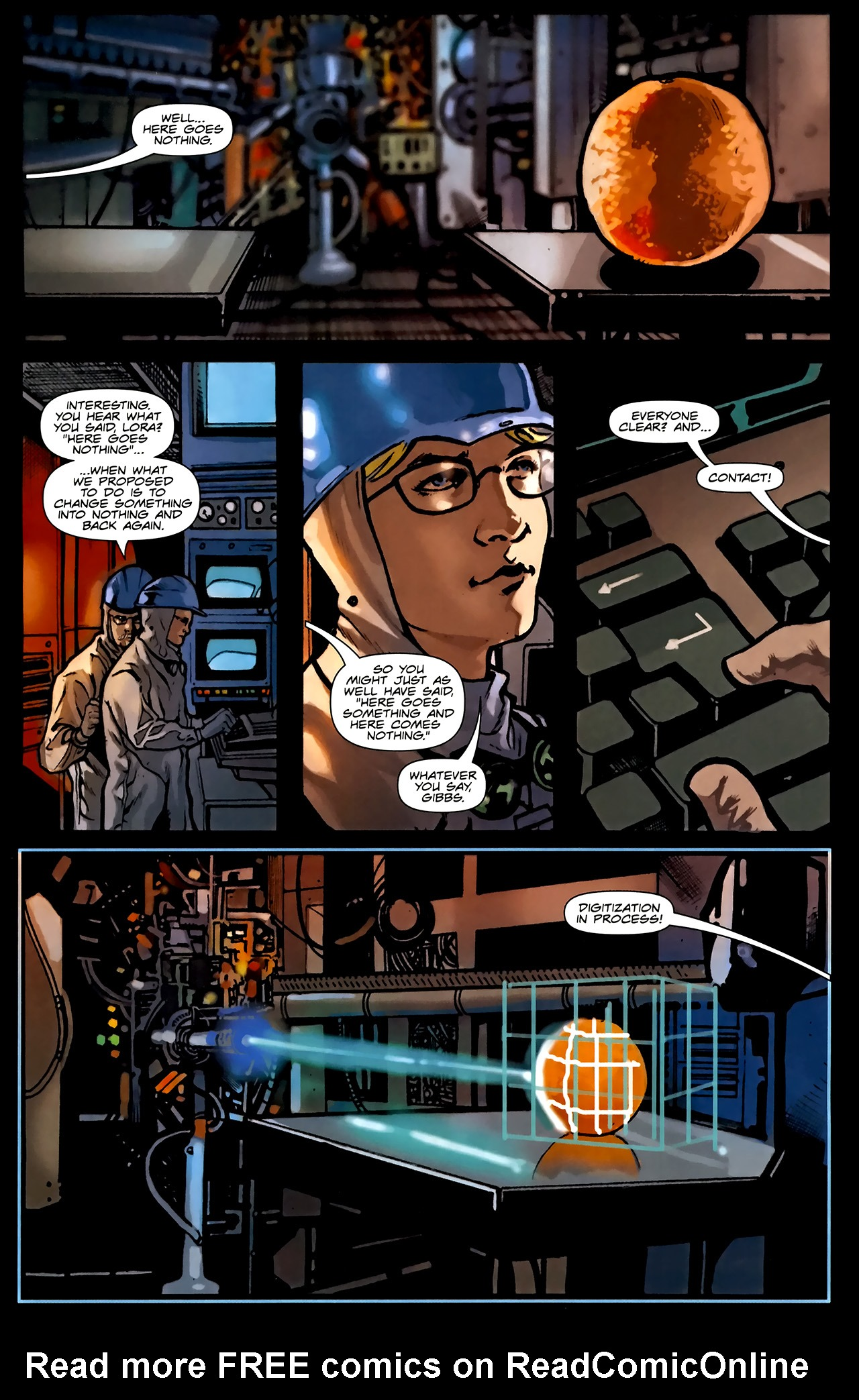Read online TRON: Original Movie Adaptation comic -  Issue #1 - 18