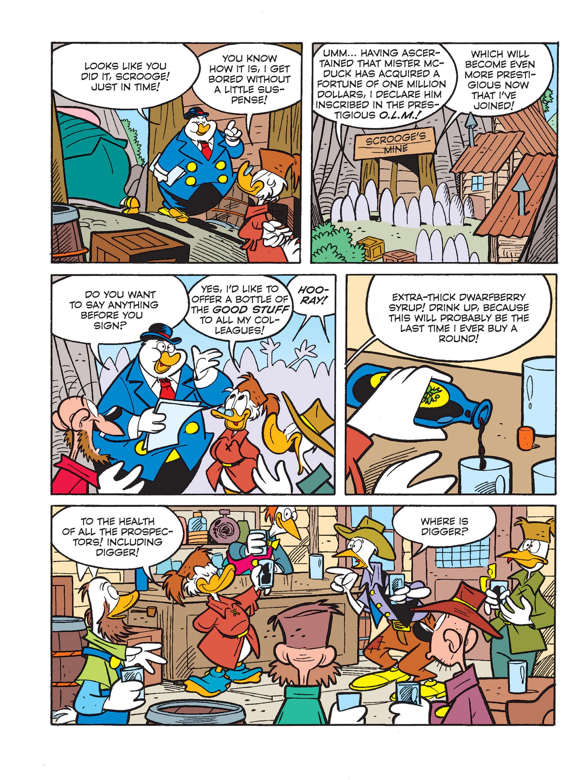 Read online All of Scrooge McDuck's Millions comic -  Issue #1 - 24