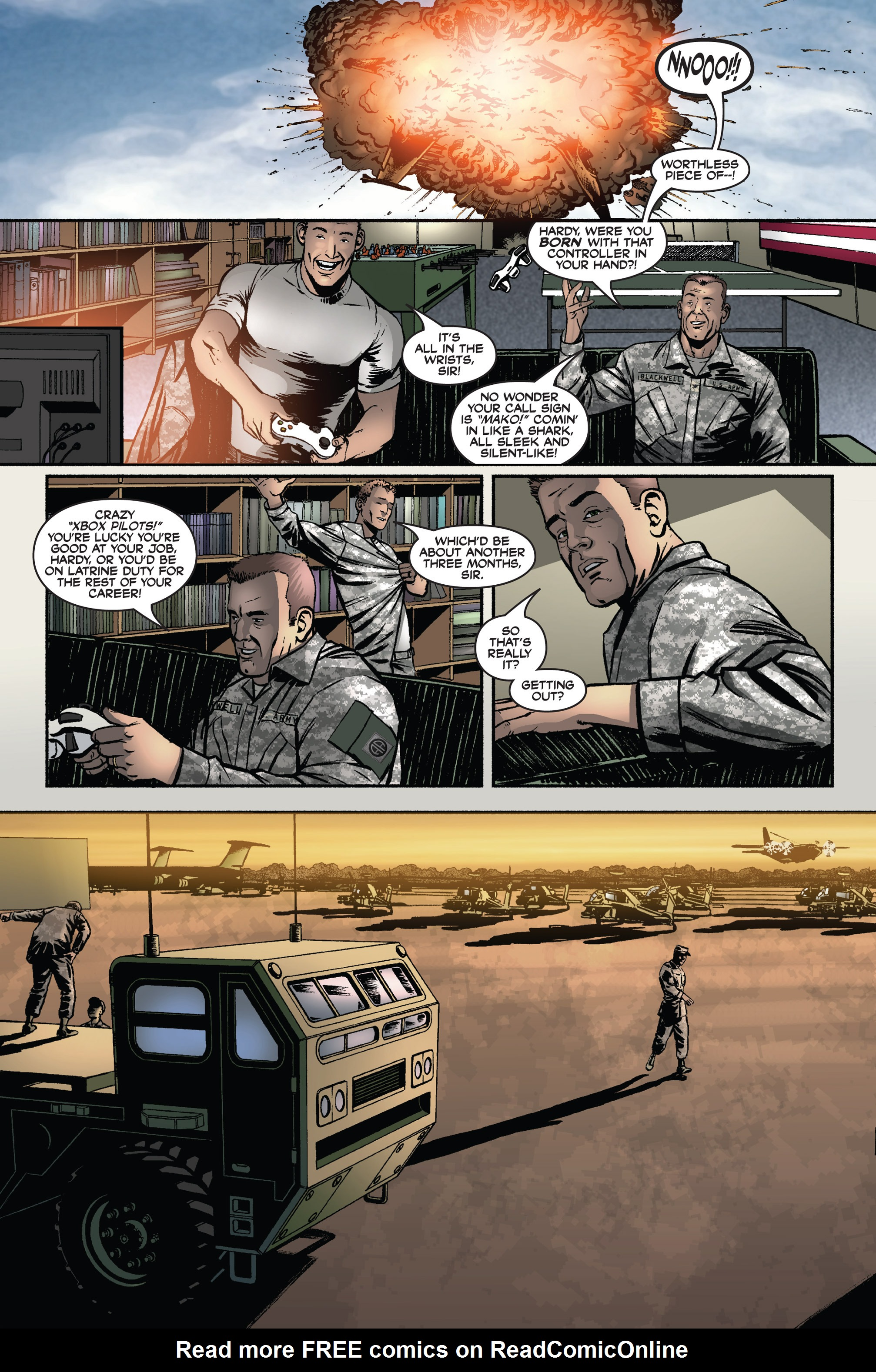 Read online America's Army comic -  Issue #3 - 4