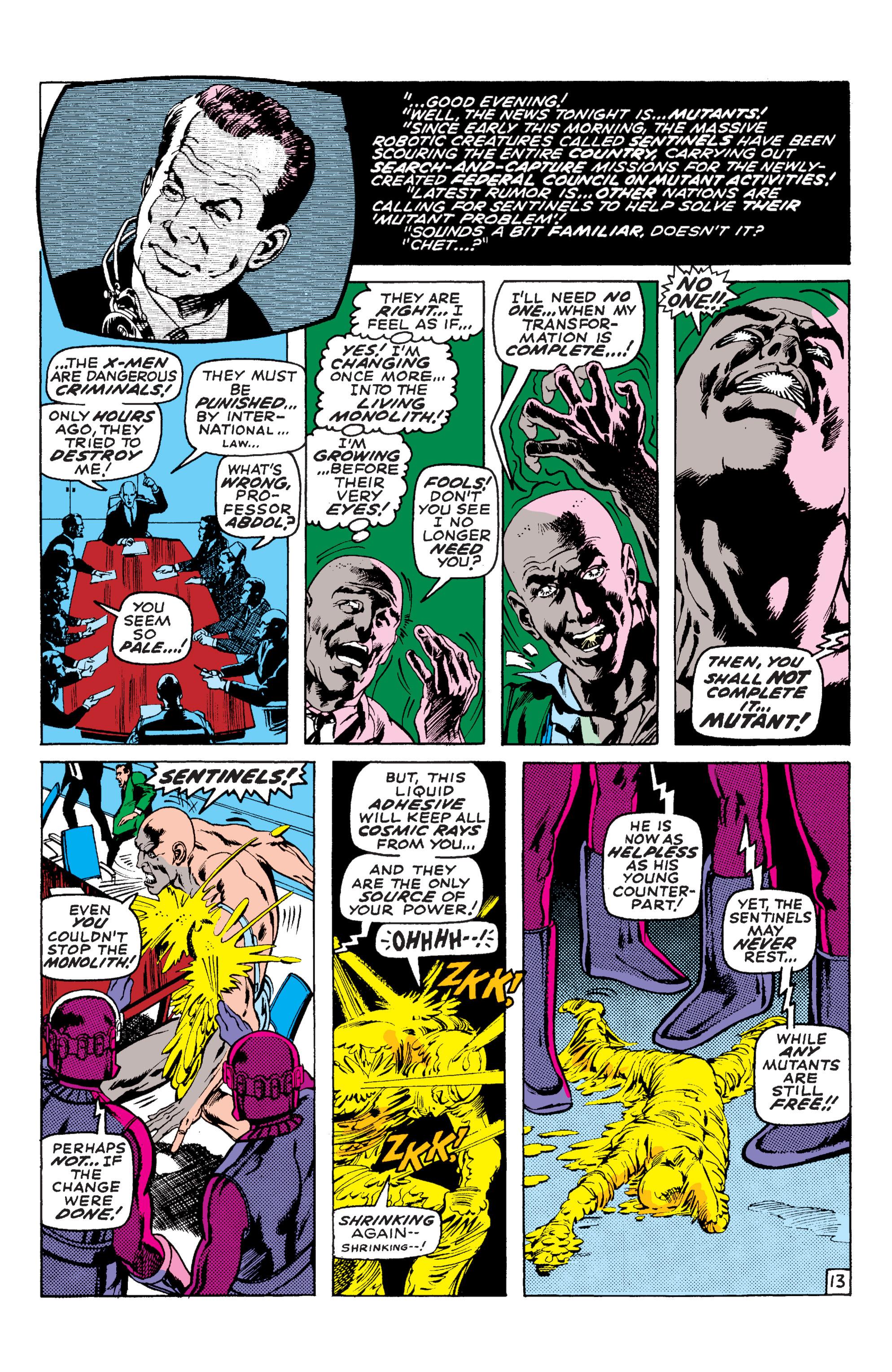 Read online Uncanny X-Men (1963) comic -  Issue #58 - 13