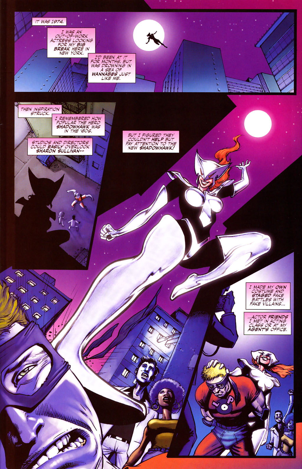 Read online ShadowHawk (2005) comic -  Issue #13 - 20