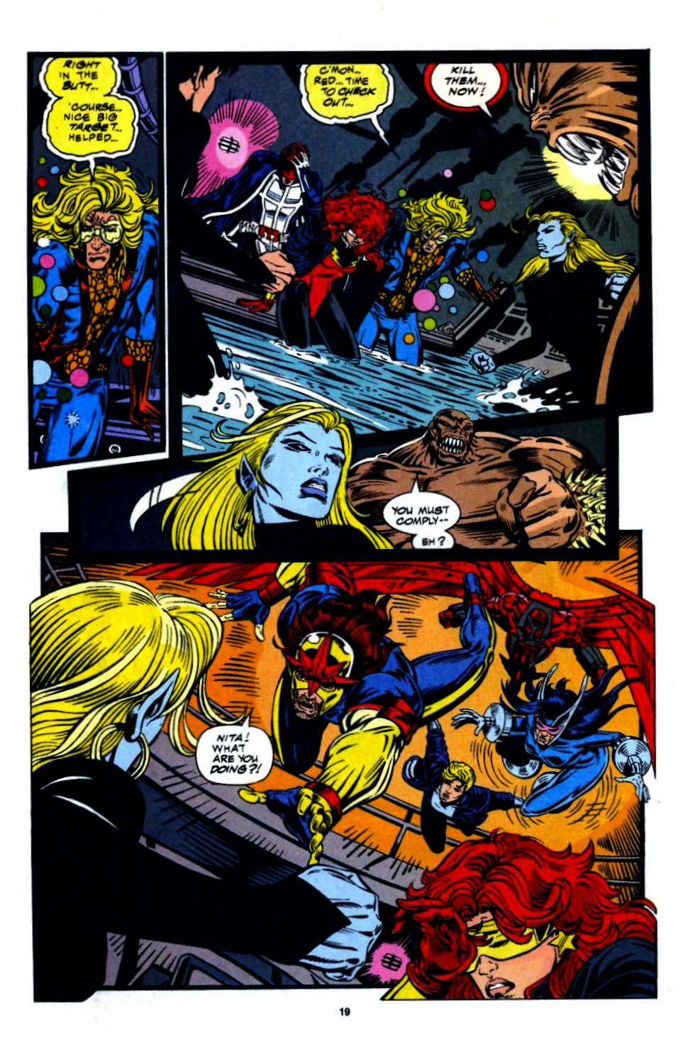 The New Warriors Issue #56 #60 - English 15