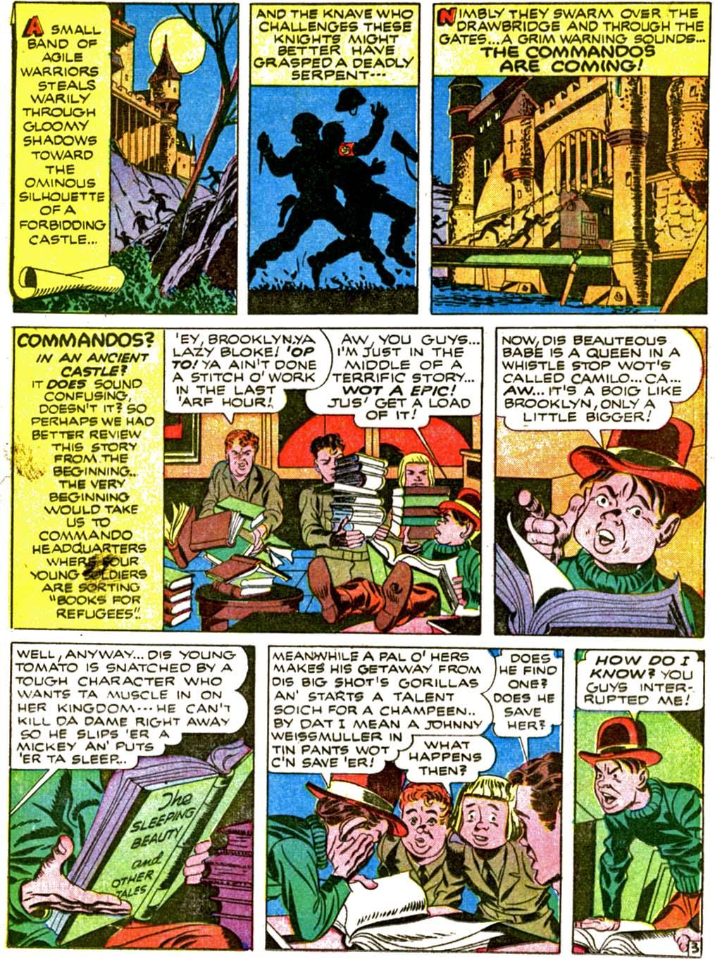 Boy Commandos issue 2 - Page 35