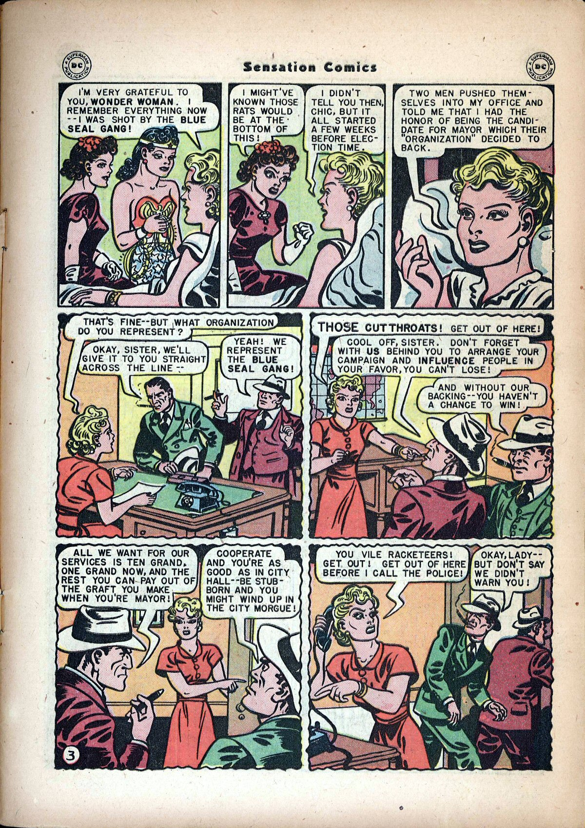 Read online Sensation (Mystery) Comics comic -  Issue #72 - 5