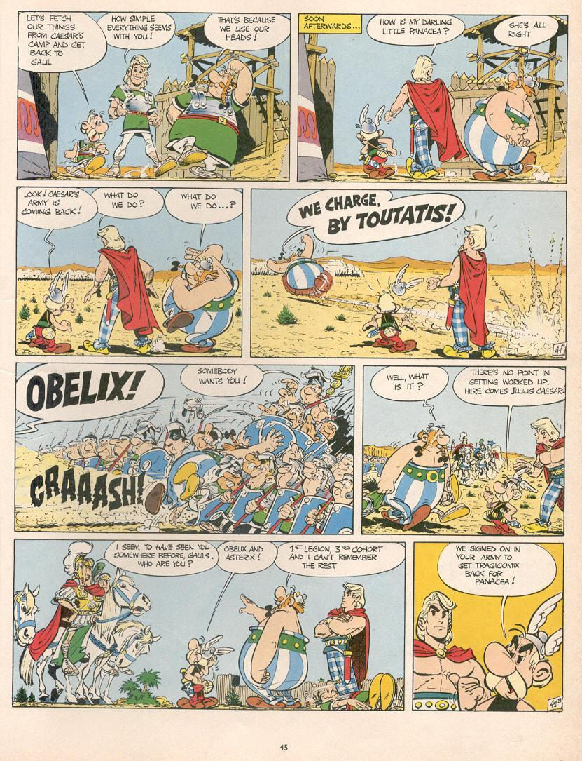 Read online Asterix comic -  Issue #10 - 42