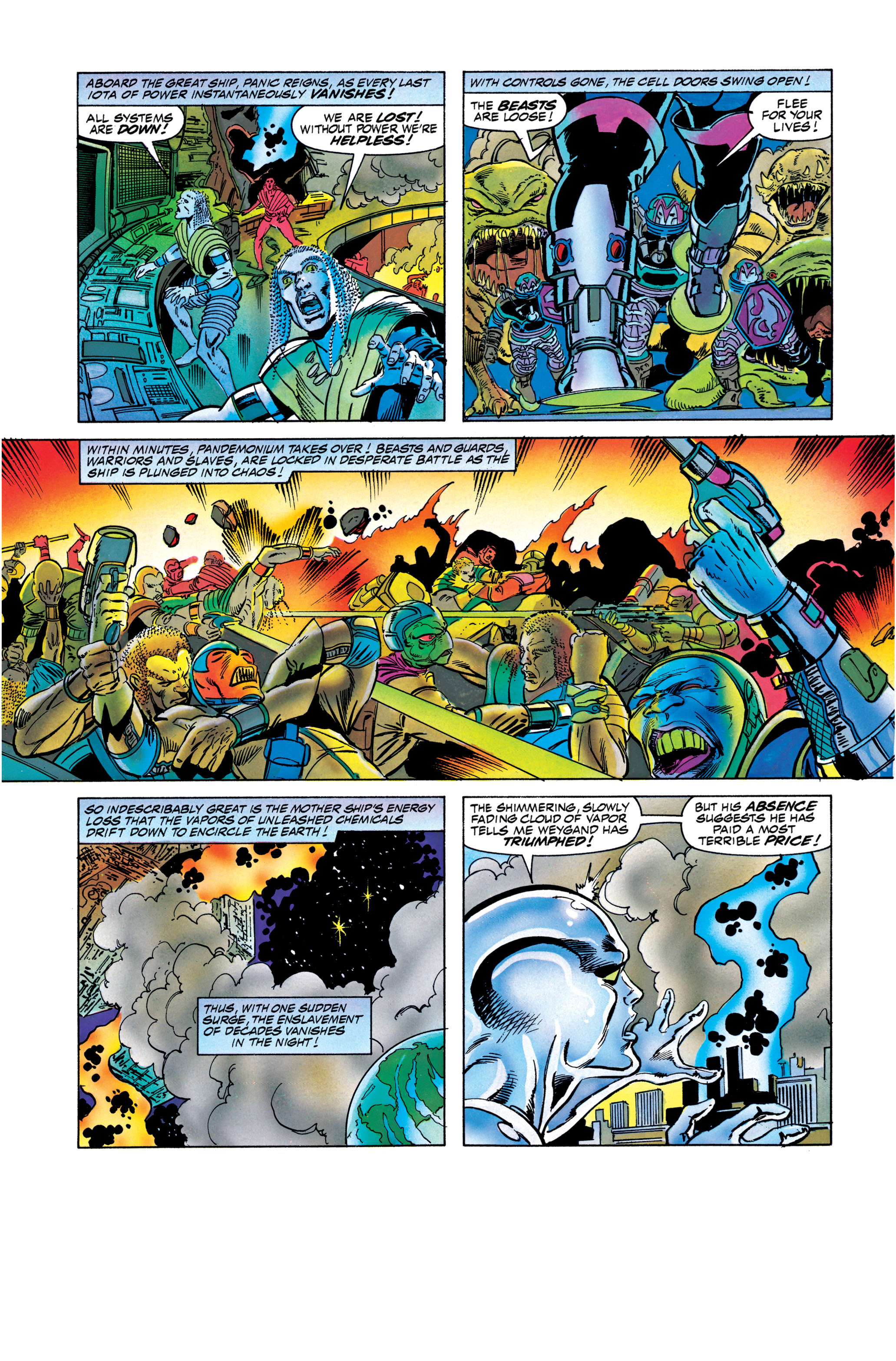 Read online Silver Surfer: Parable comic -  Issue # TPB - 123