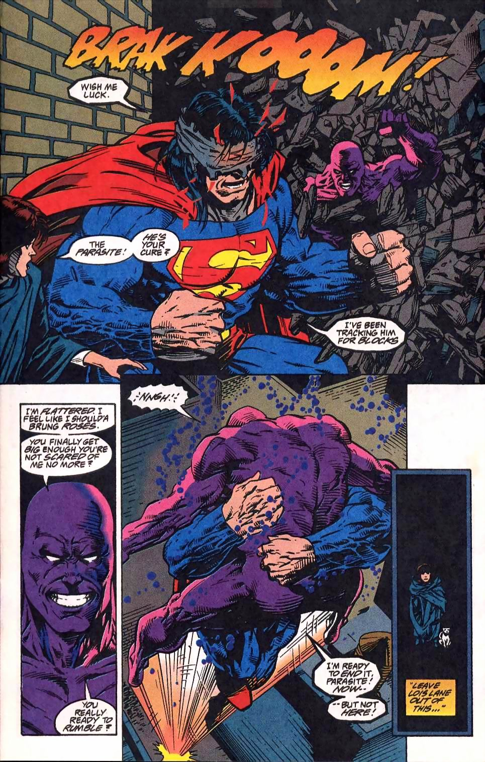 Read online Adventures of Superman (1987) comic -  Issue #512 - 11
