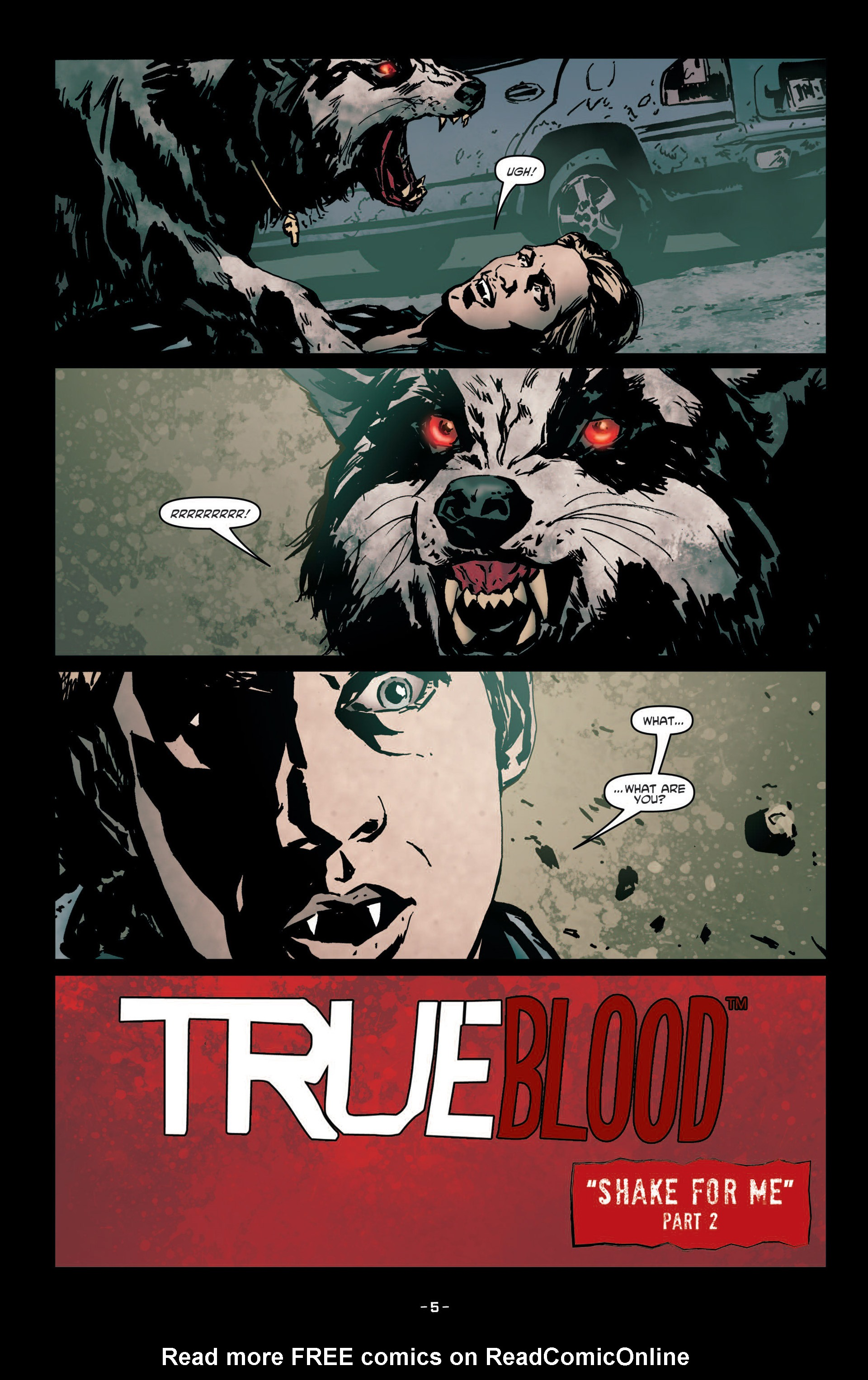 Read online True Blood (2012) comic -  Issue #7 - 7