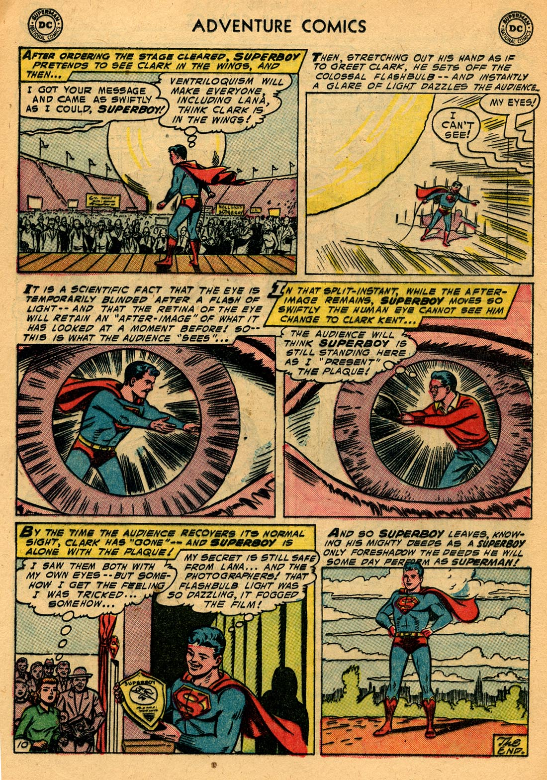 Read online Adventure Comics (1938) comic -  Issue #209 - 12